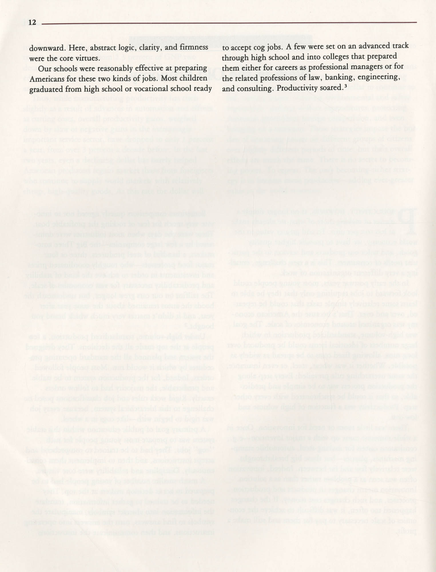 Education and the Next Economy, Page 12