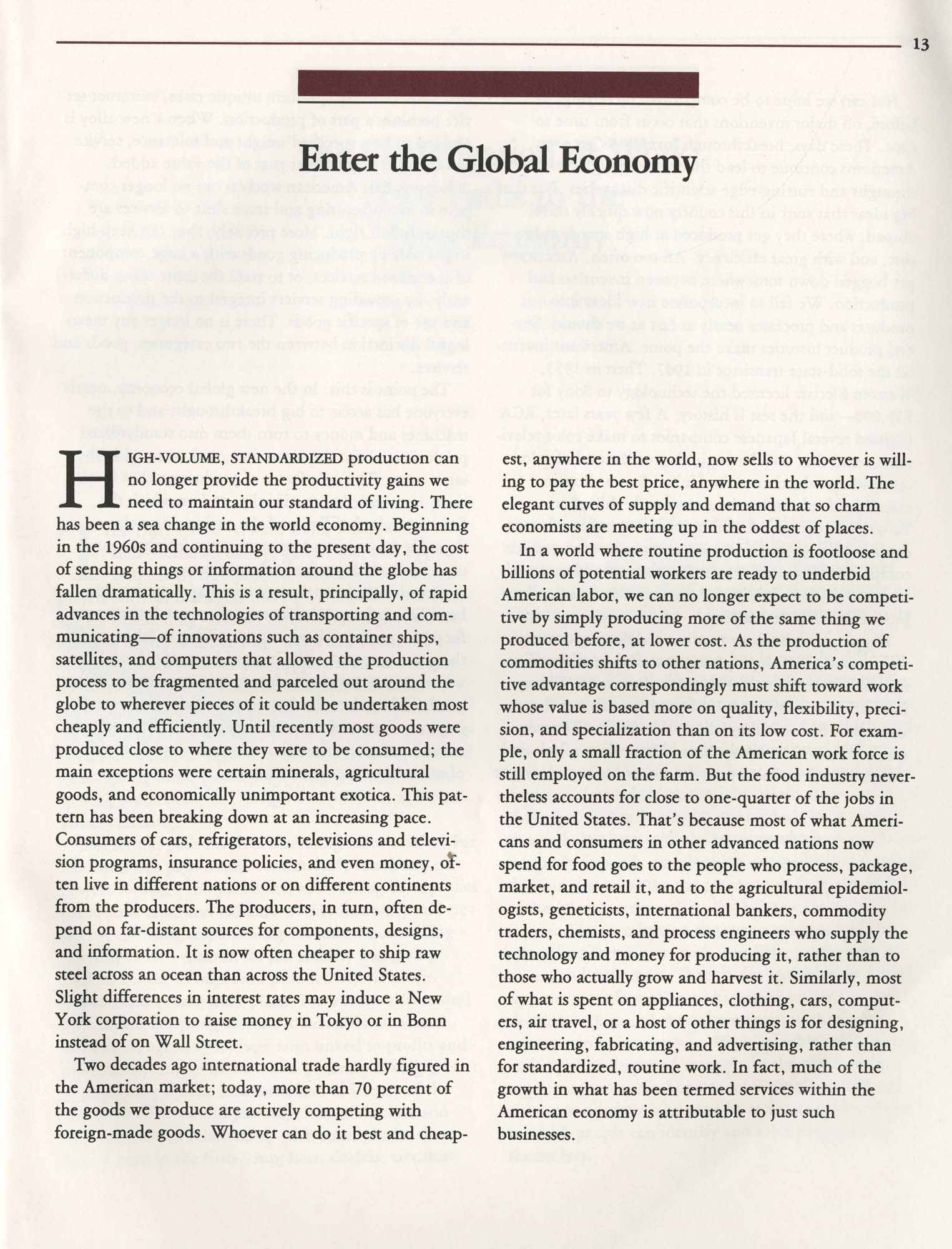 Education and the Next Economy, Page 13
