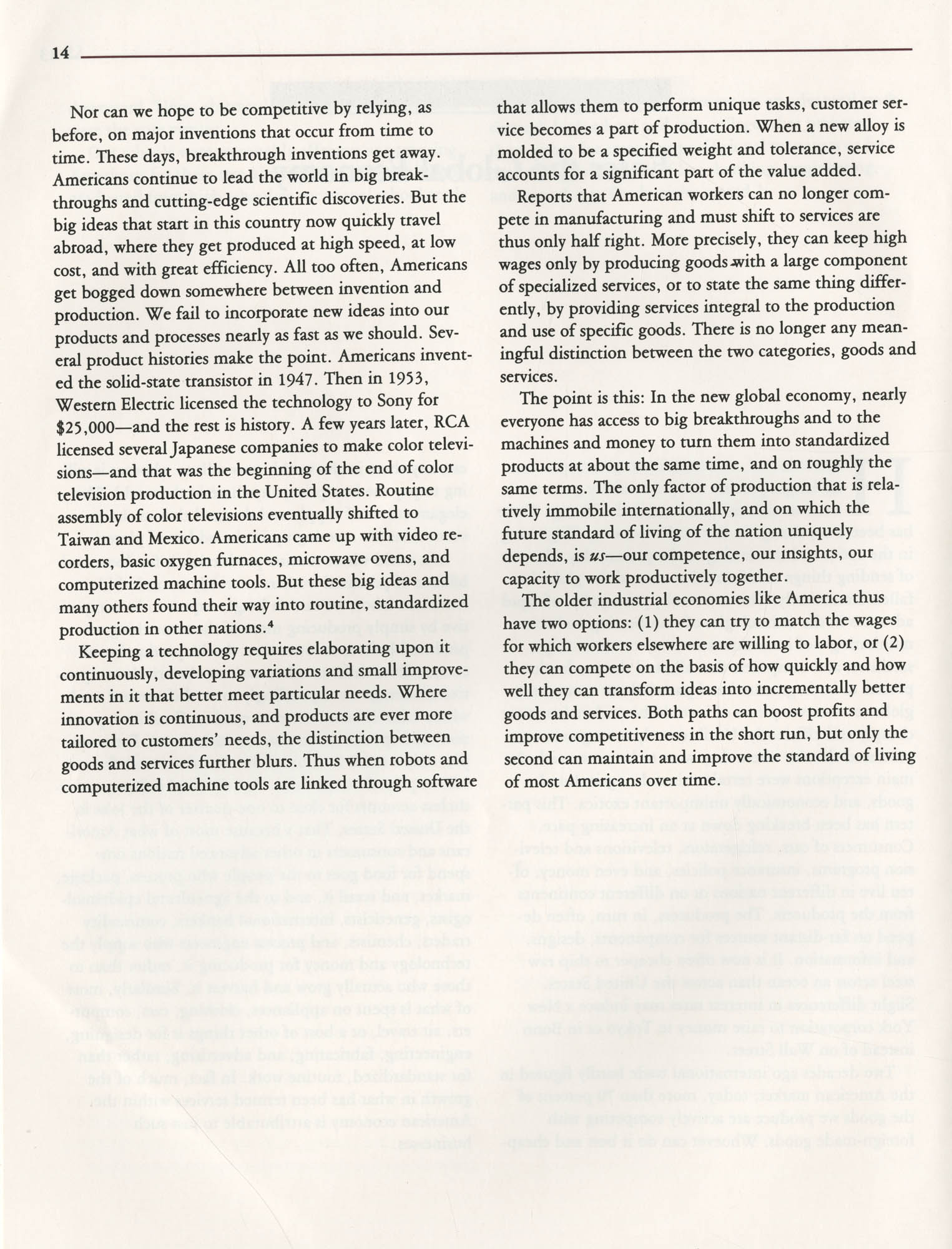 Education and the Next Economy, Page 14