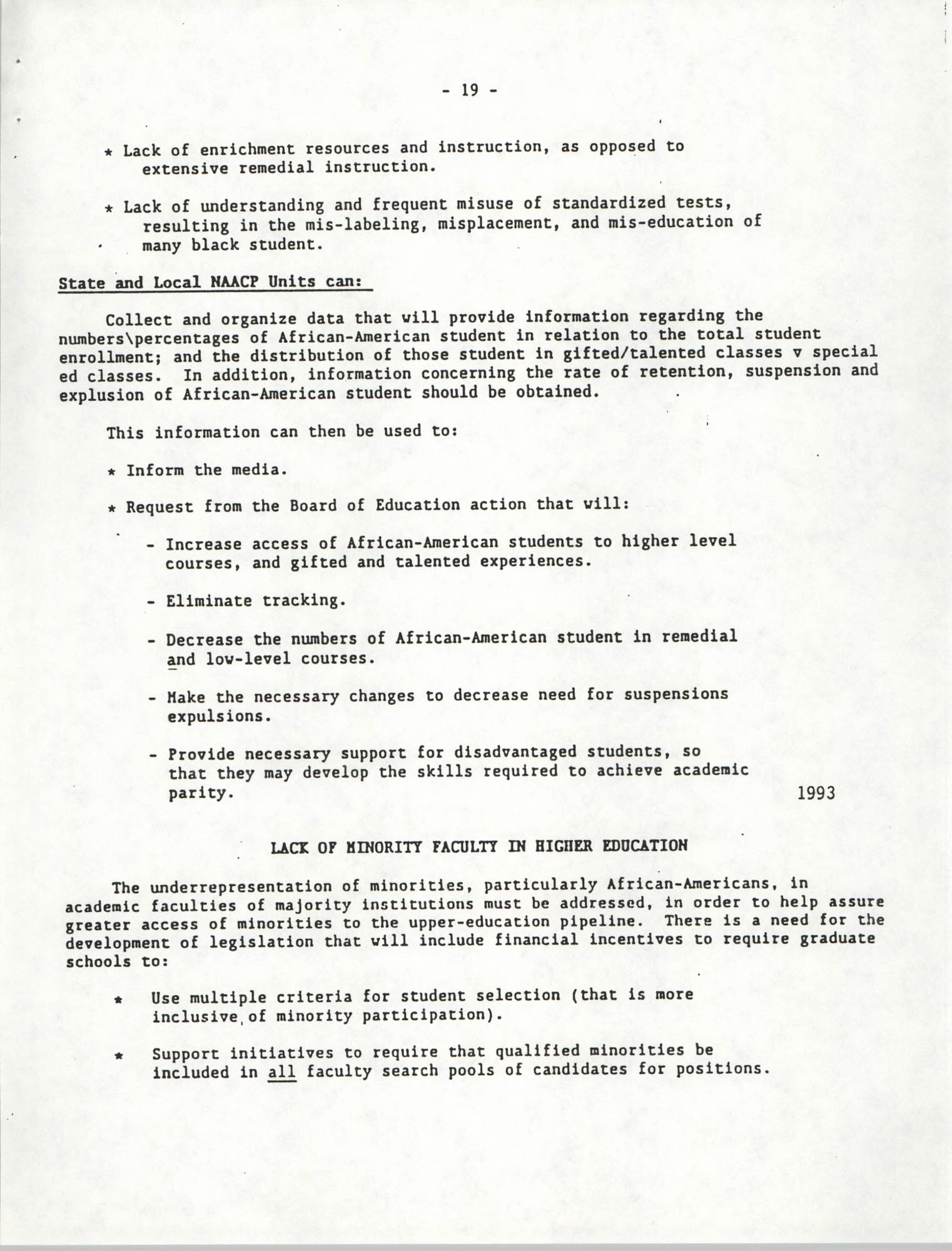 Education Resolutions 1993, Page 19