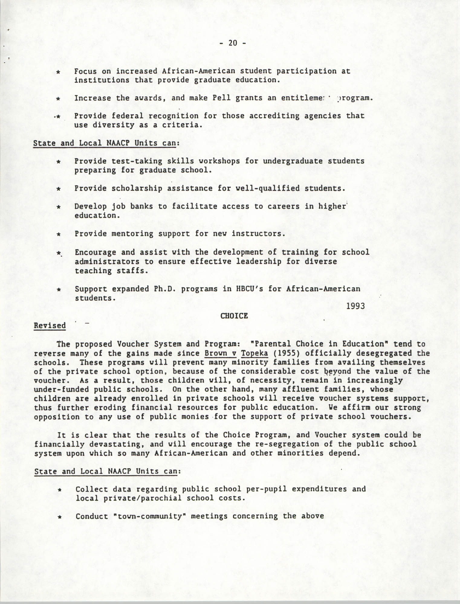 Education Resolutions 1993, Page 20