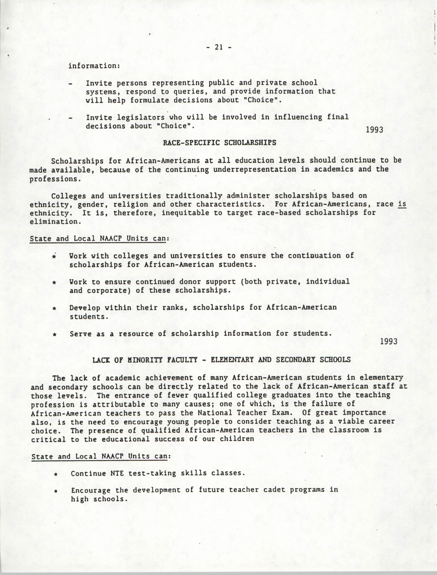 Education Resolutions 1993, Page 21