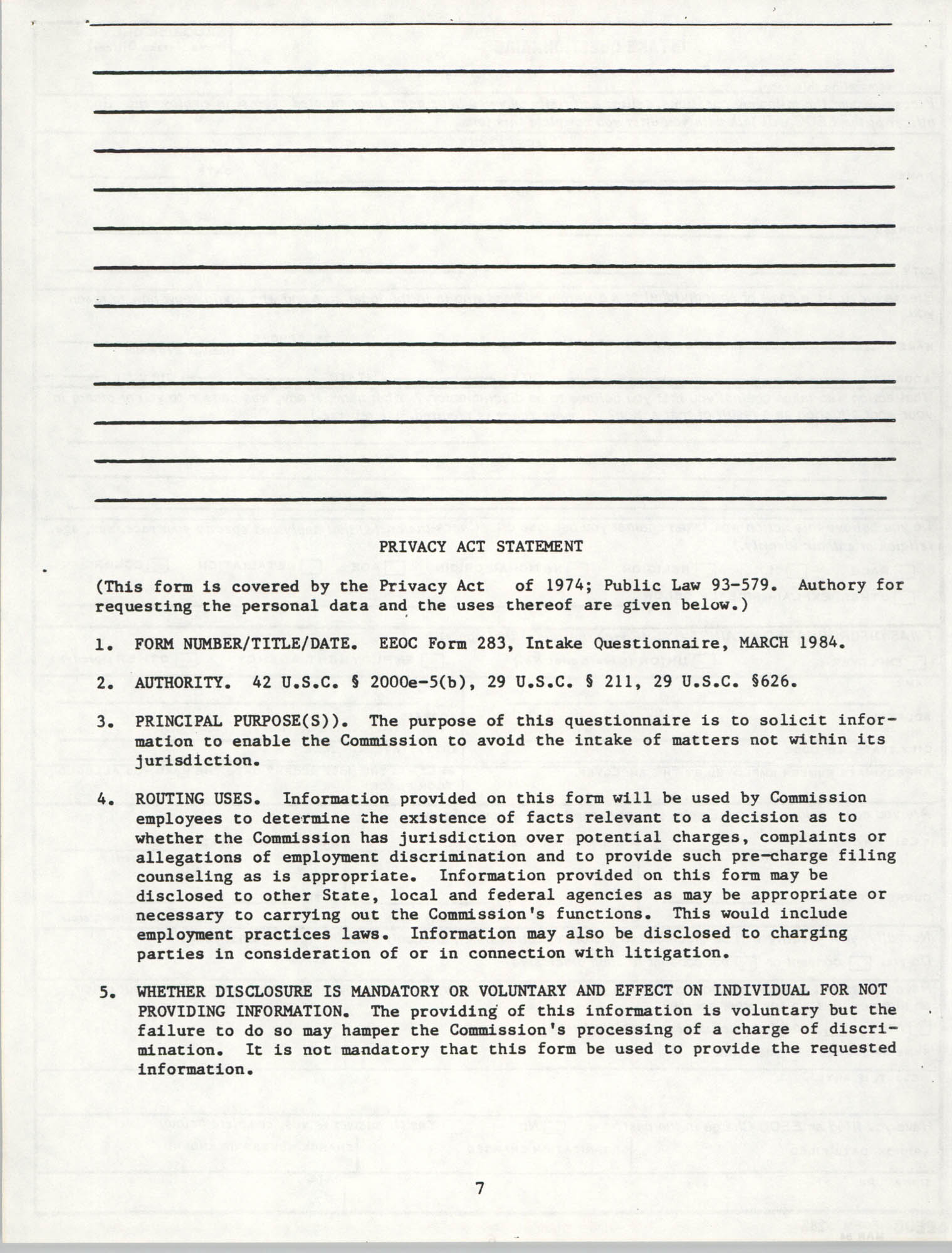 Handbook for Addressing Discrimination Complaints, NAACP Labor and Industry Committees, Page 7