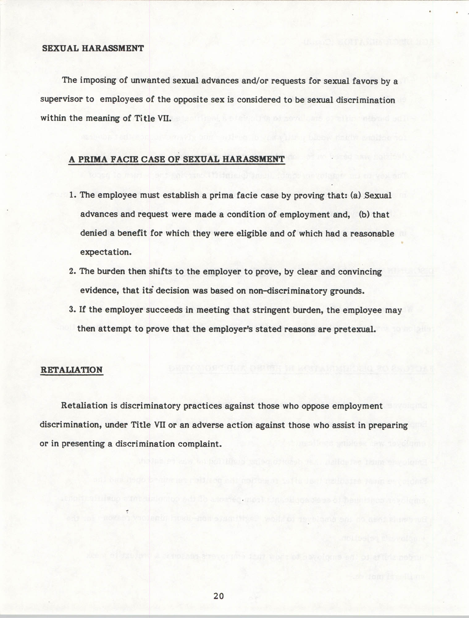 Handbook for Addressing Discrimination Complaints, NAACP Labor and Industry Committees, Page 20