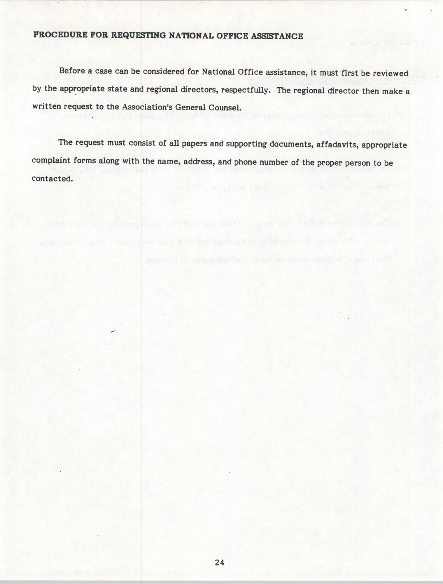 Handbook for Addressing Discrimination Complaints, NAACP Labor and Industry Committees, Page 24