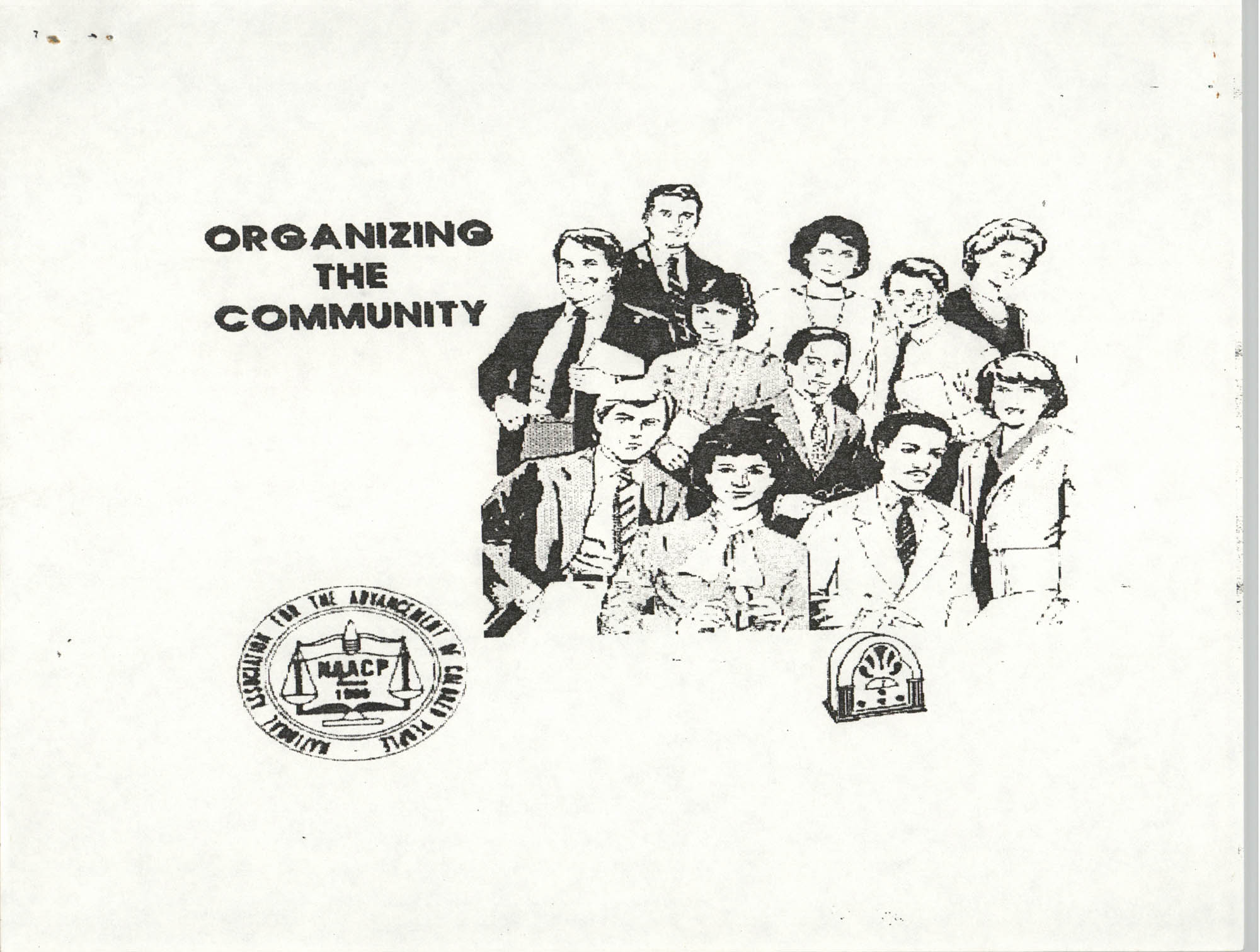 Community Organization Methods, NAACP, Page 1