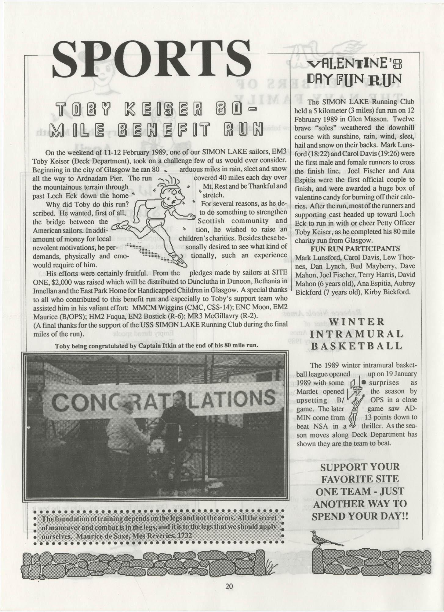 Periscope/Highlander, Vol. 1 No. 6, April 1989, Page 20