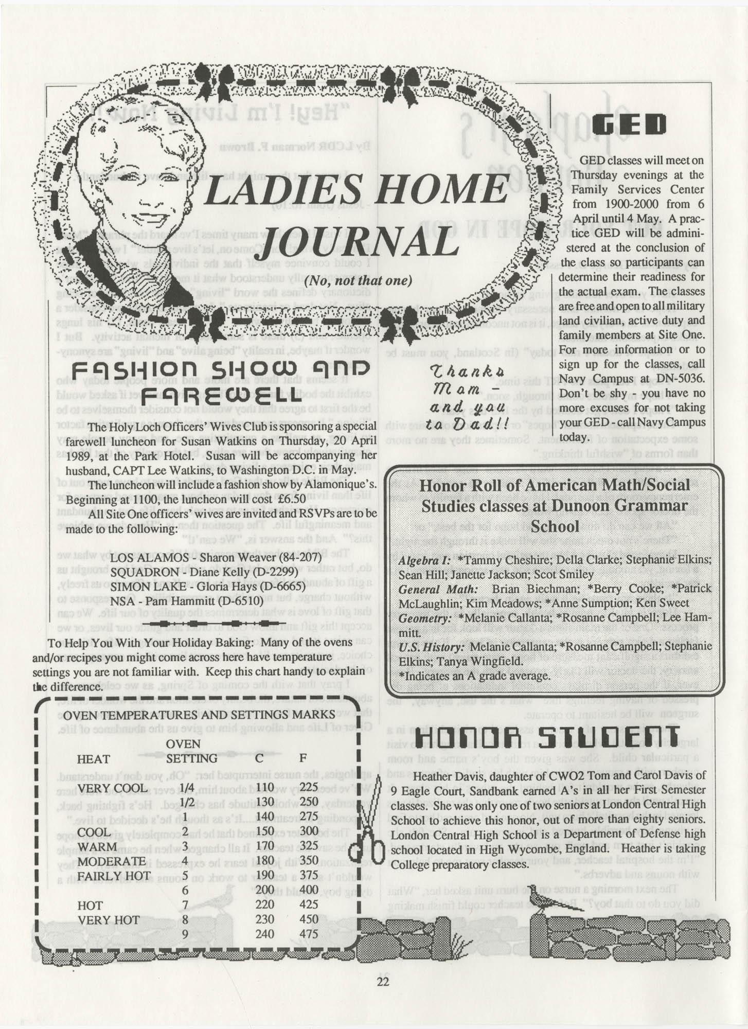 Periscope/Highlander, Vol. 1 No. 6, April 1989, Page 22