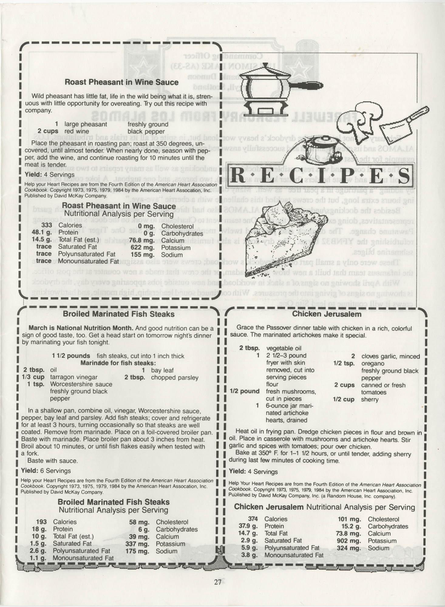 Periscope/Highlander, Vol. 1 No. 6, April 1989, Page 27