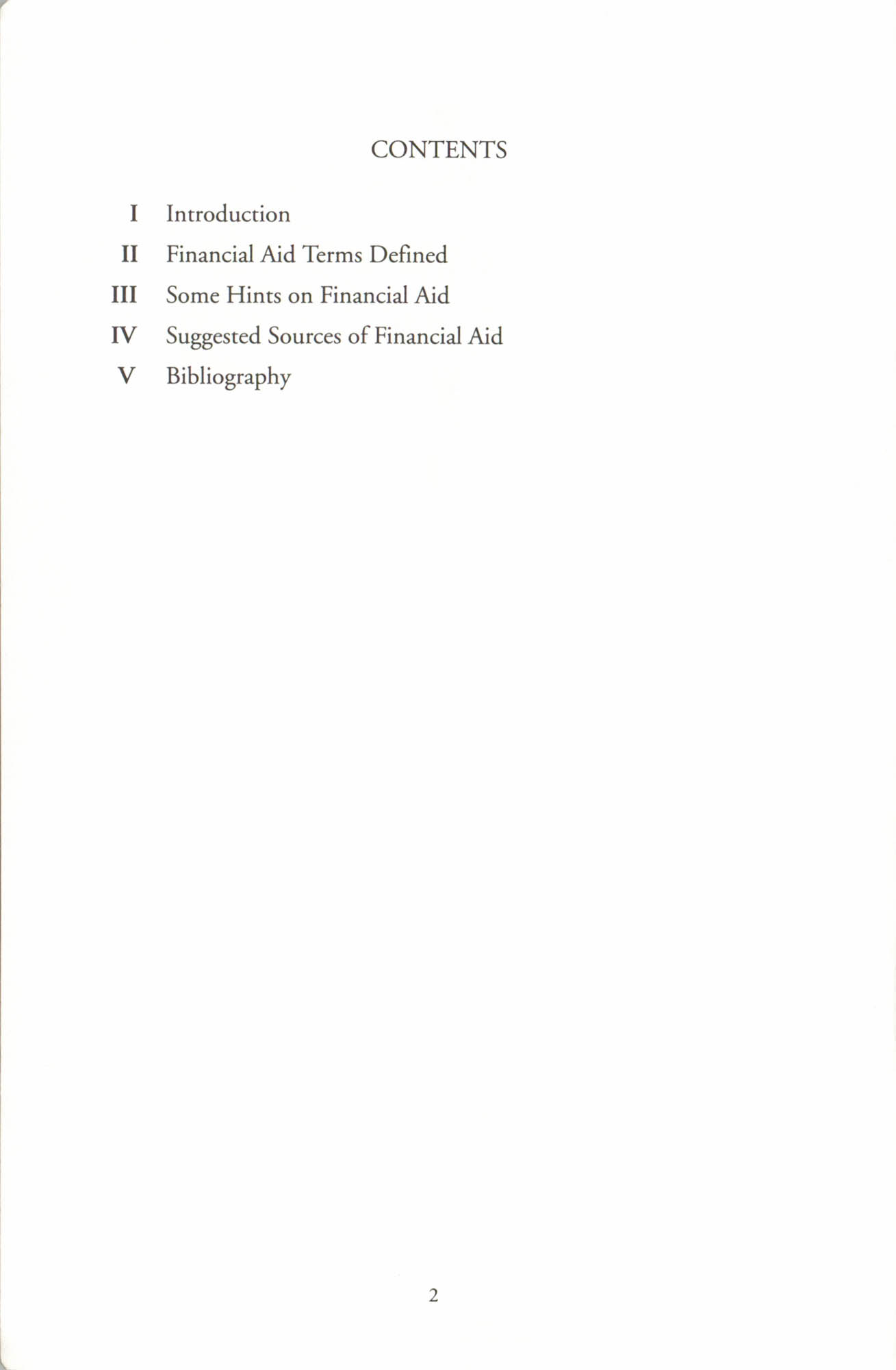 Financial Aid Resource Guide, Education Department, NAACP, Page 2