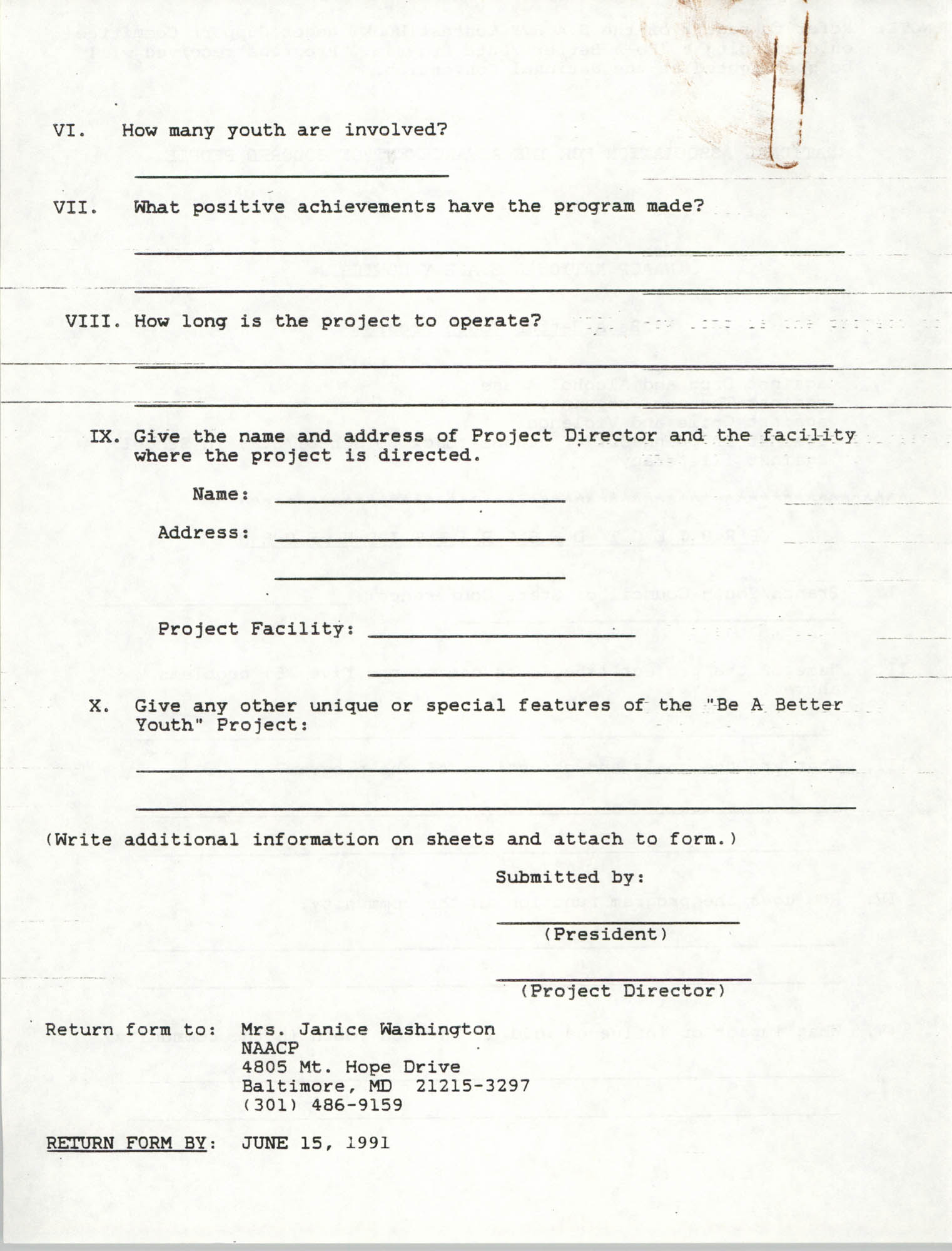 National Baby For Freedom Contest, NAACP, March 1991, Page 7