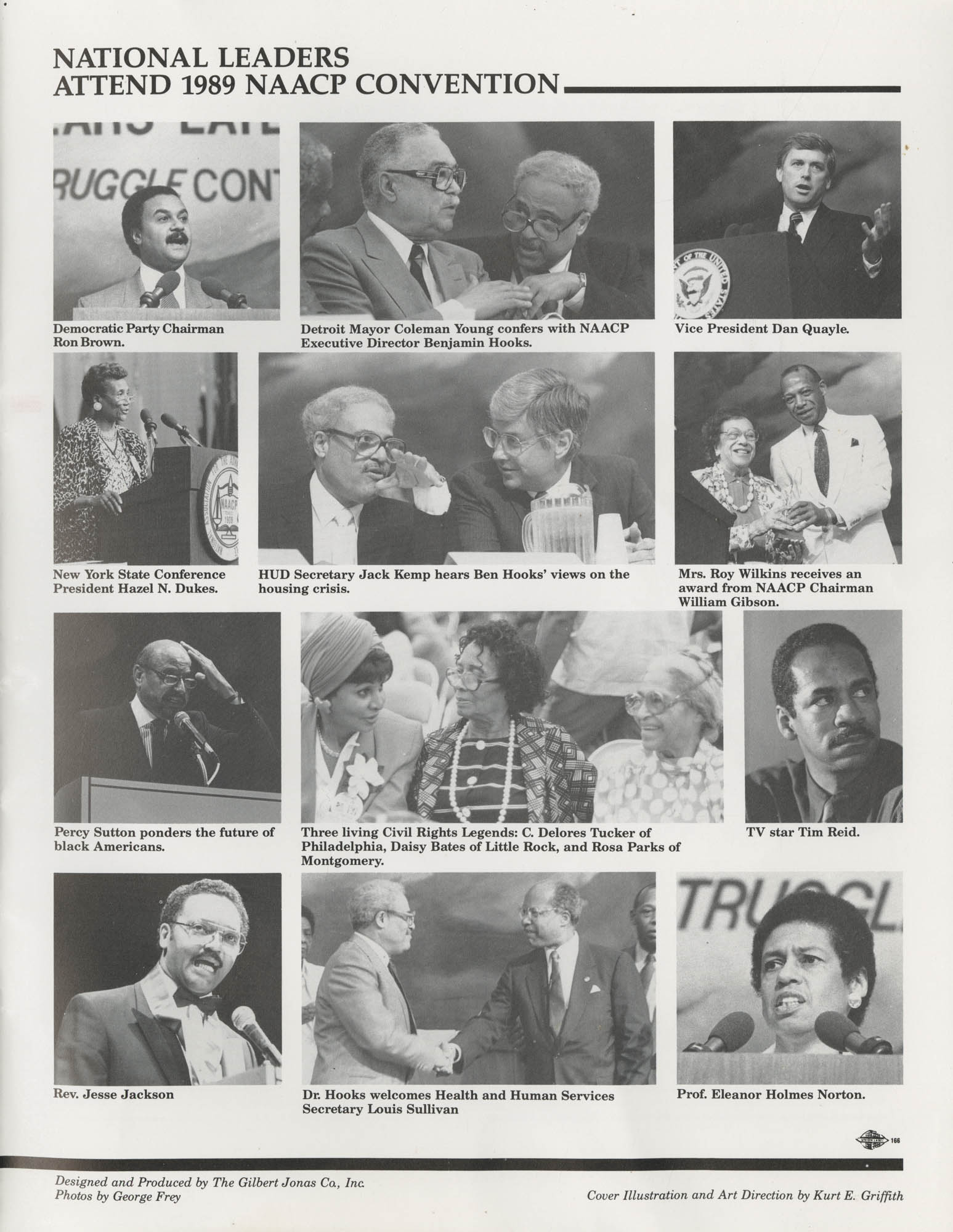 Program Report 1990, Special Contribution Fund, NAACP, Page 24