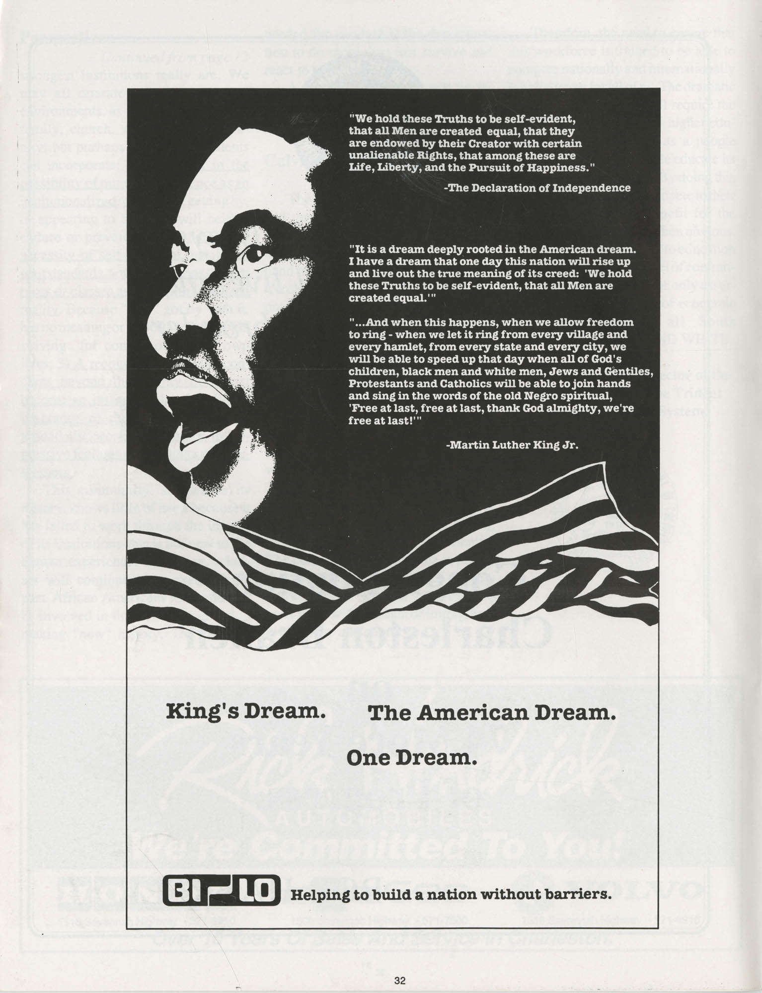 1990 NAACP Freedom Fund Magazine, Charleston Branch of the NAACP, 74th Anniversary, Page 32
