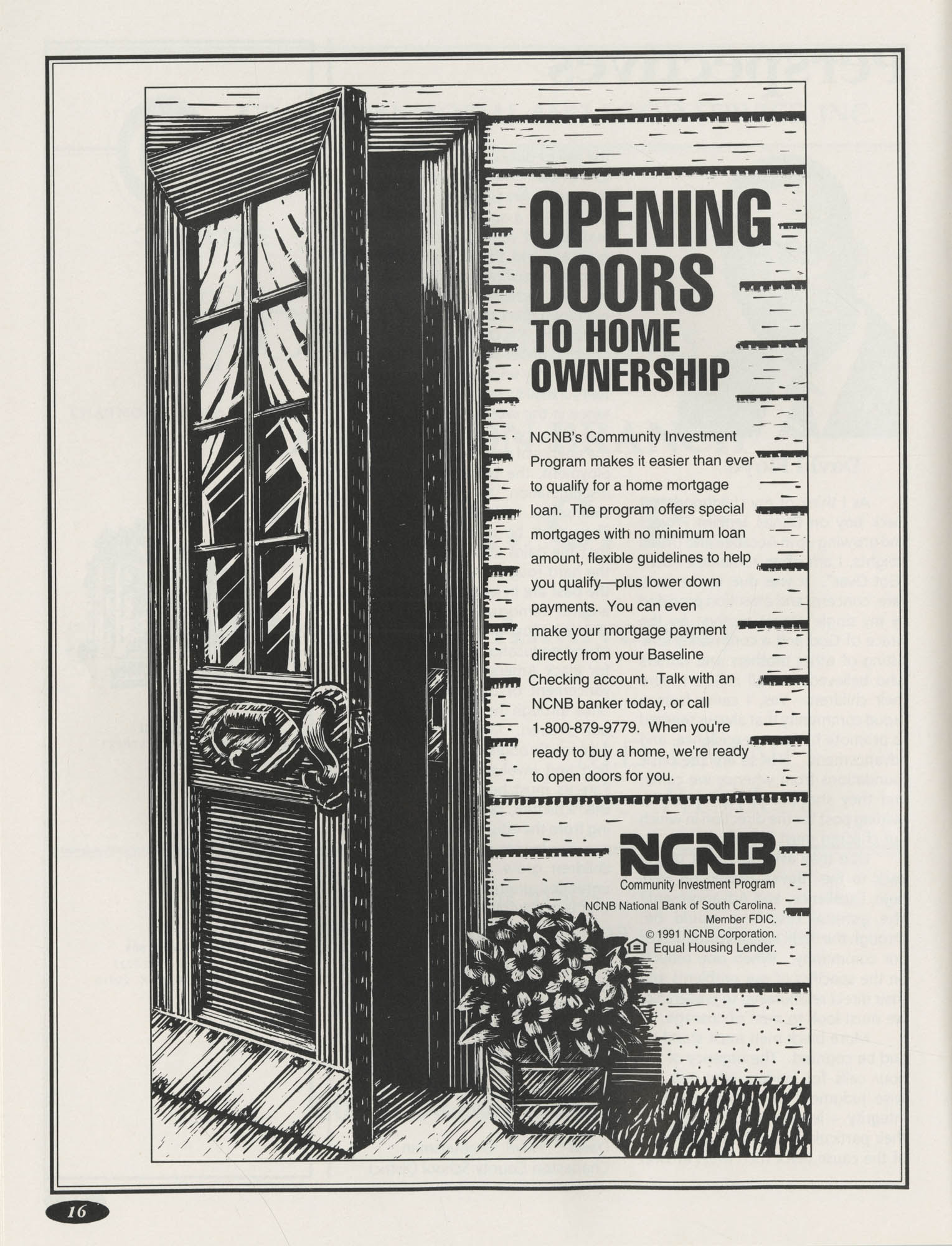 1991 Freedom Fund Magazine, Charleston Branch of the NAACP, Page 16