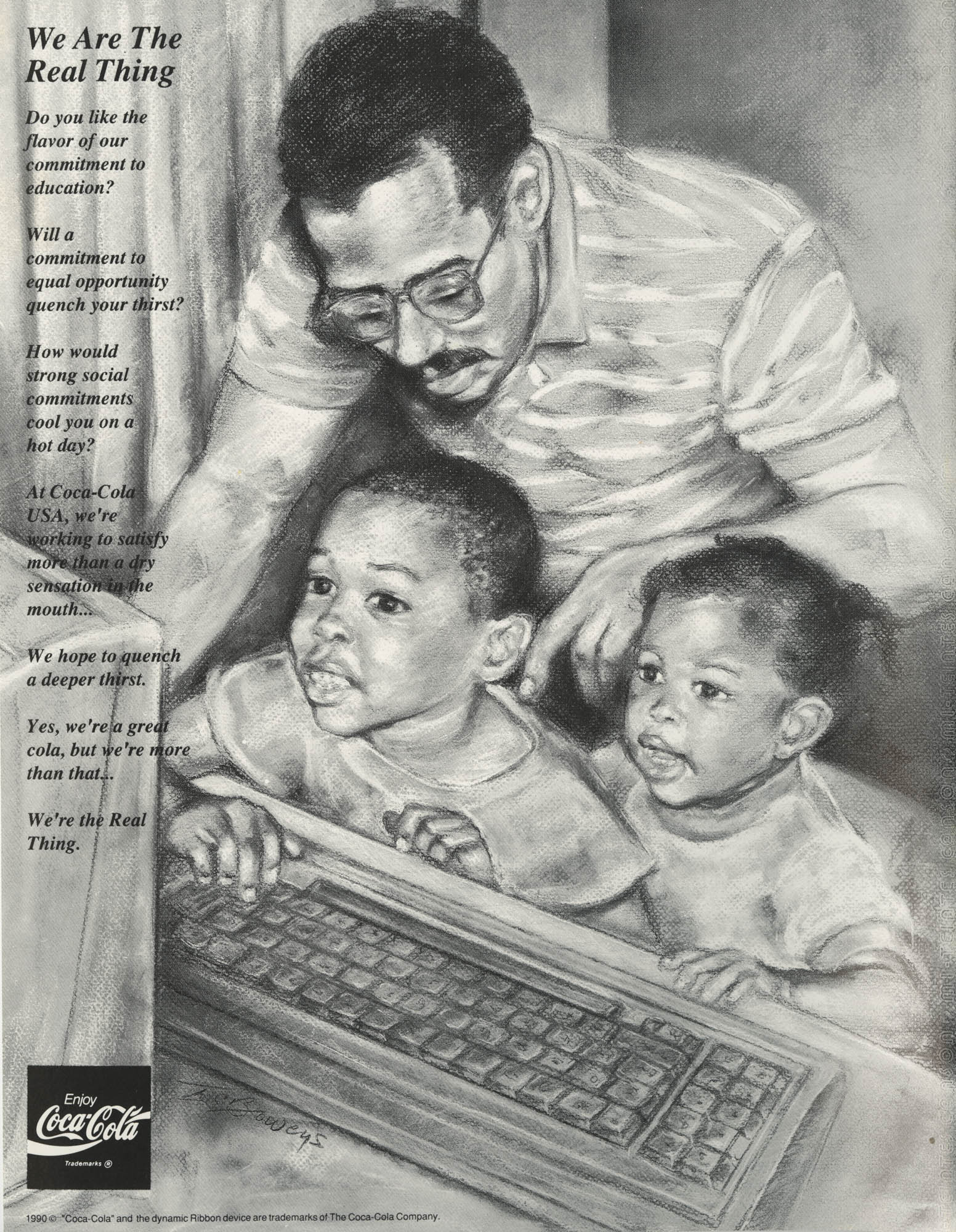 1991 Freedom Fund Magazine, Charleston Branch of the NAACP, Back Cover