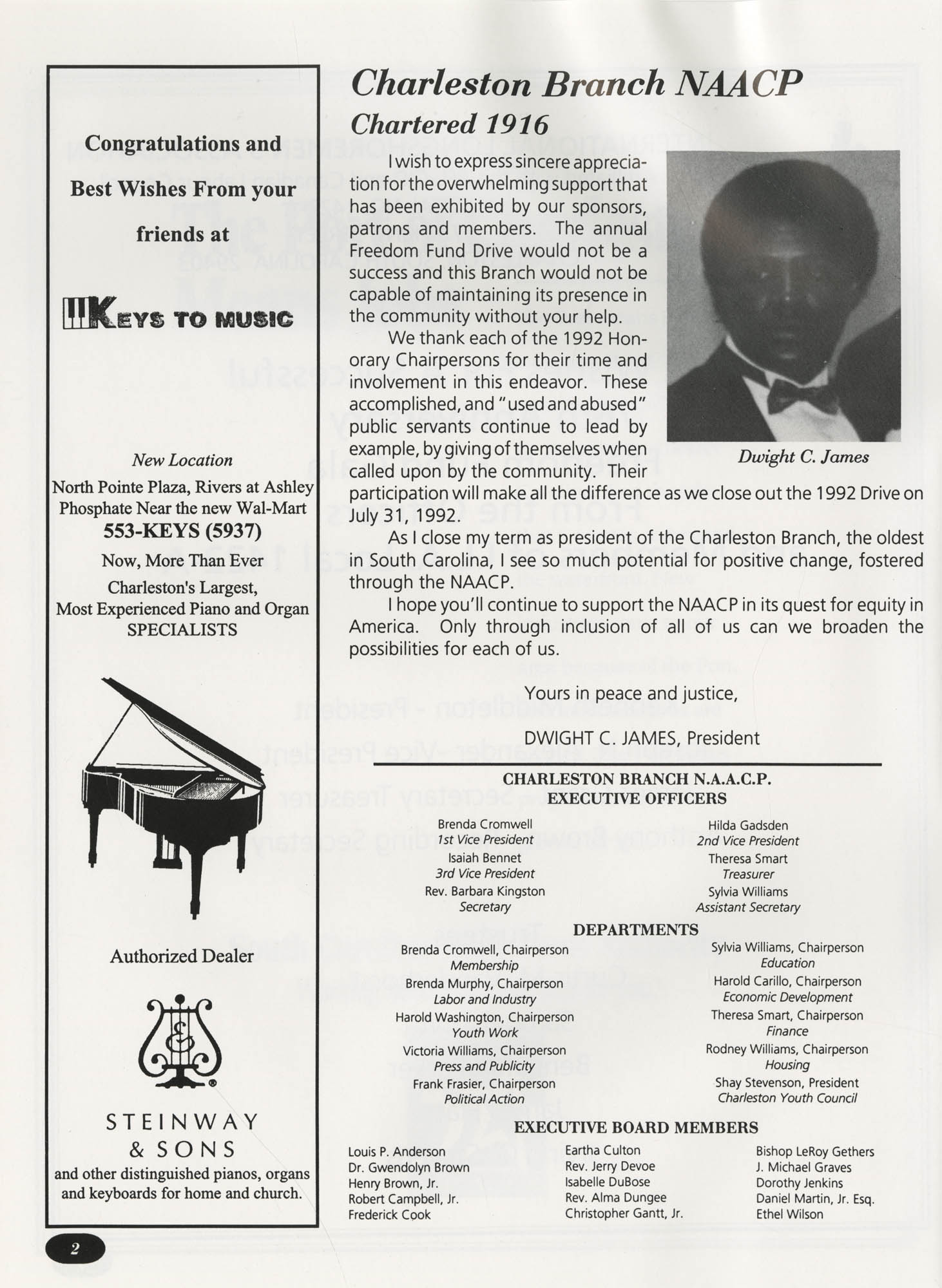 Freedom Fund Magazine, 1992, Page 2