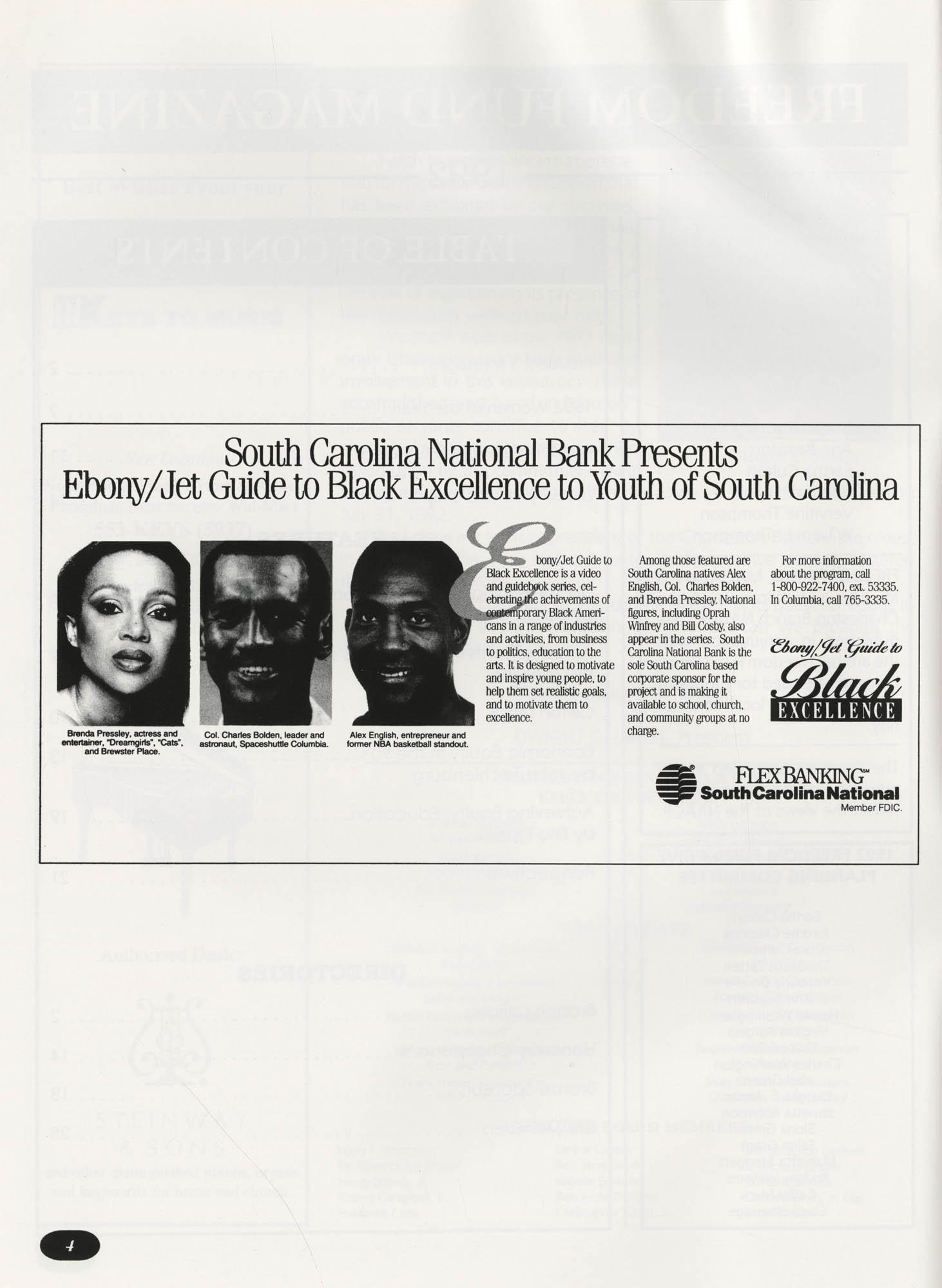 Freedom Fund Magazine, 1992, Page 4