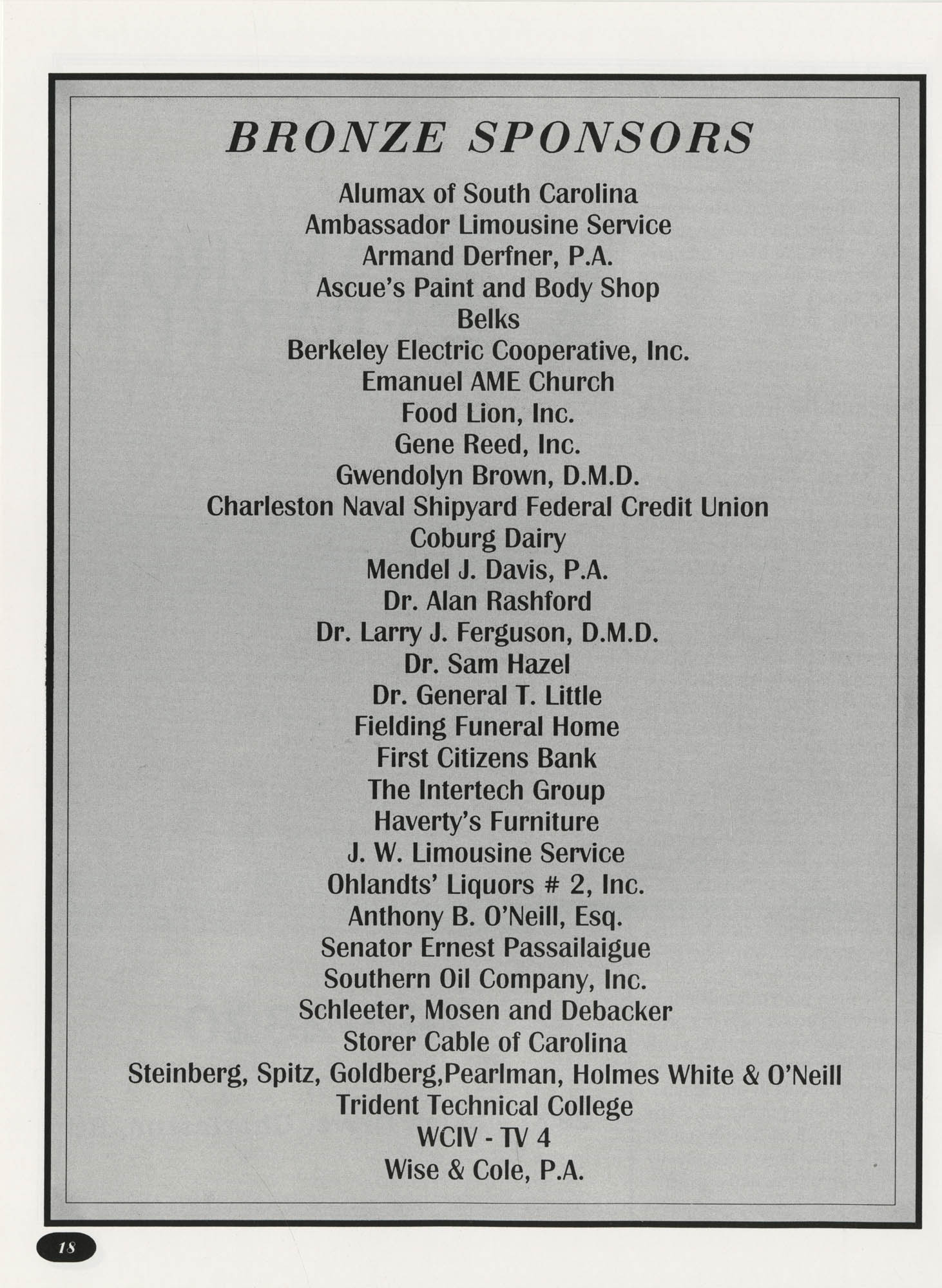 Freedom Fund Magazine, 1992, Page 18