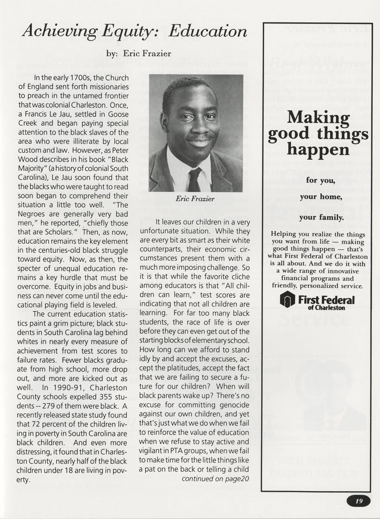 Freedom Fund Magazine, 1992, Page 19