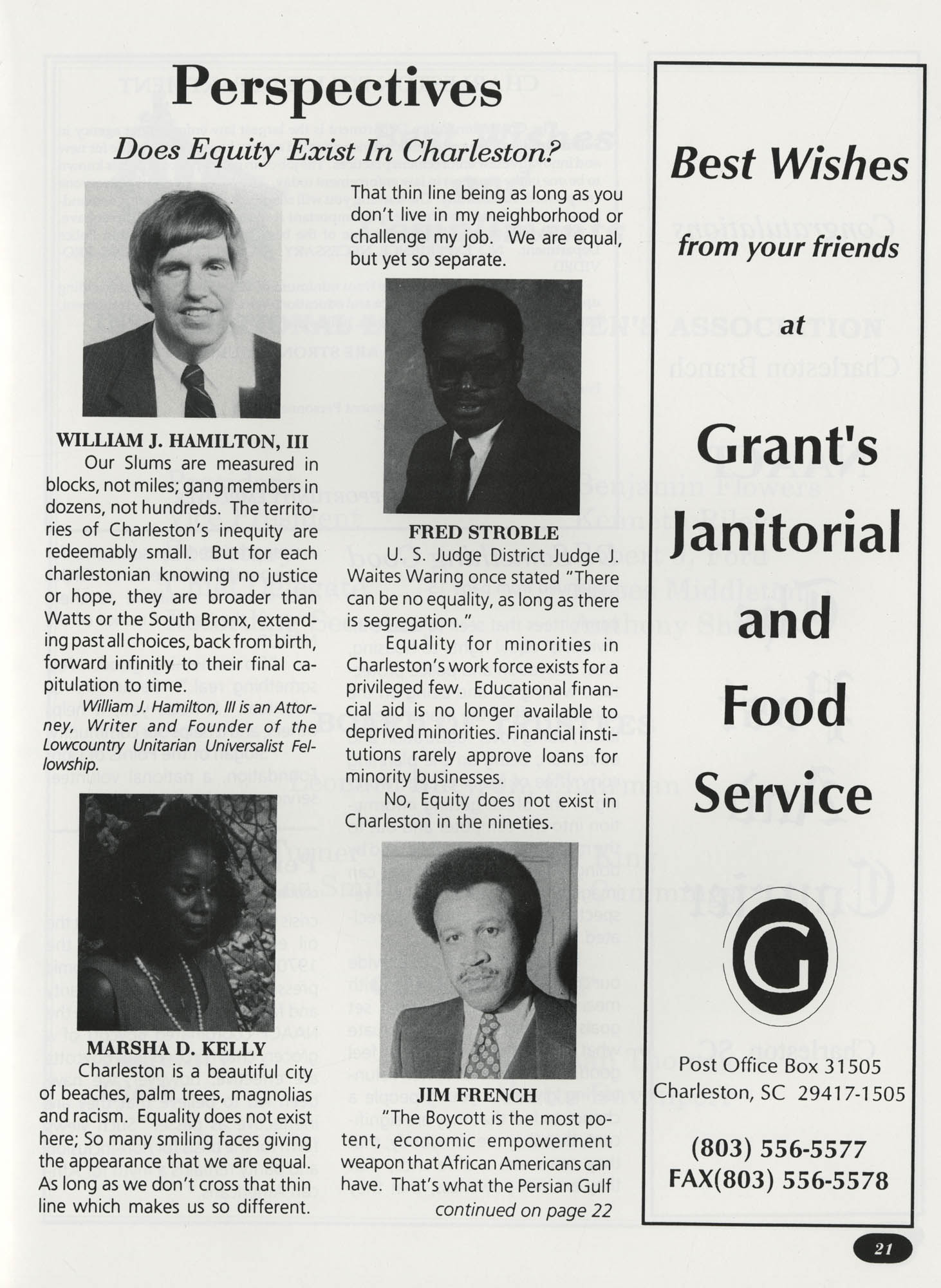 Freedom Fund Magazine, 1992, Page 21