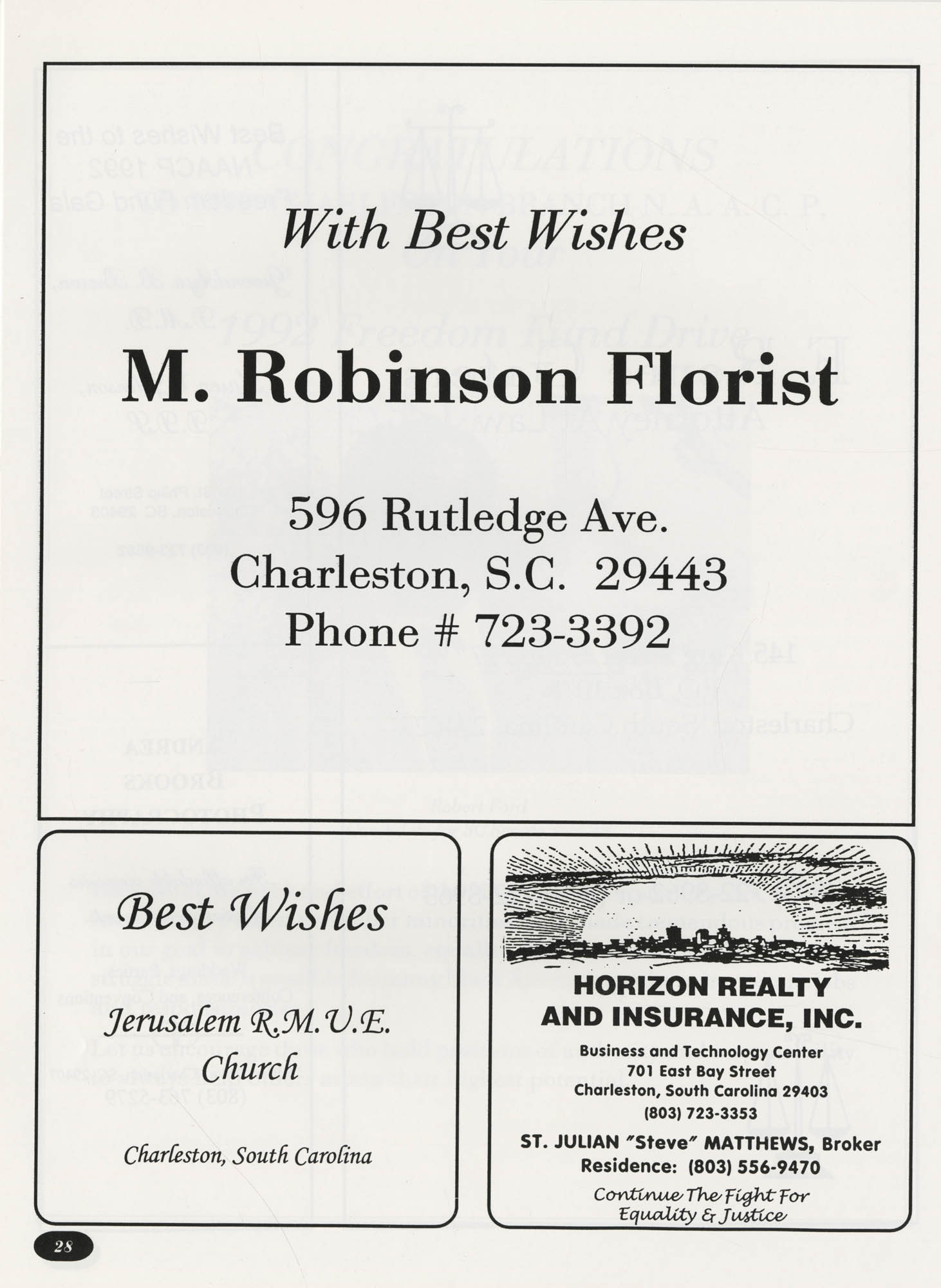 Freedom Fund Magazine, 1992, Page 28