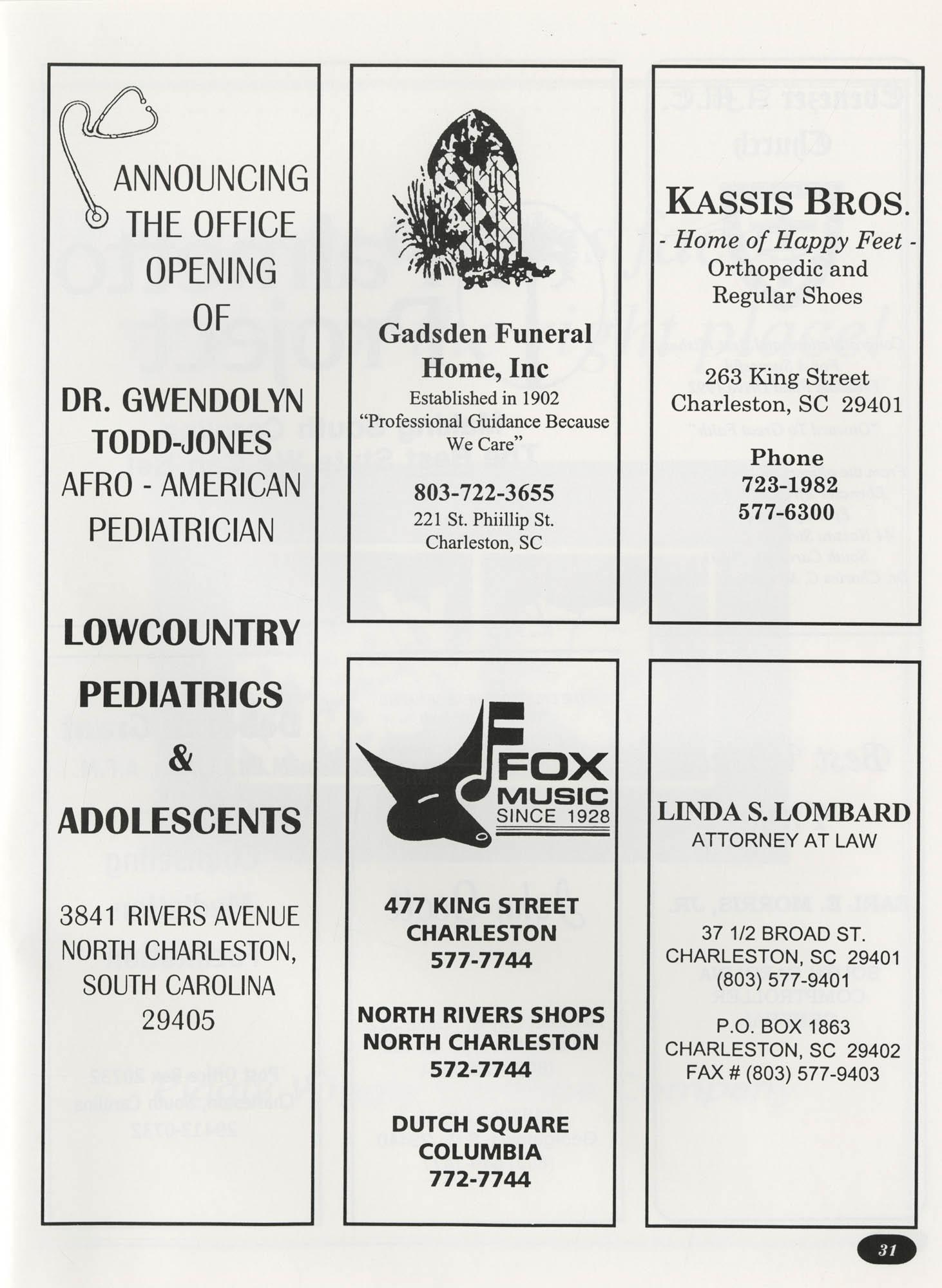 Freedom Fund Magazine, 1992, Page 31