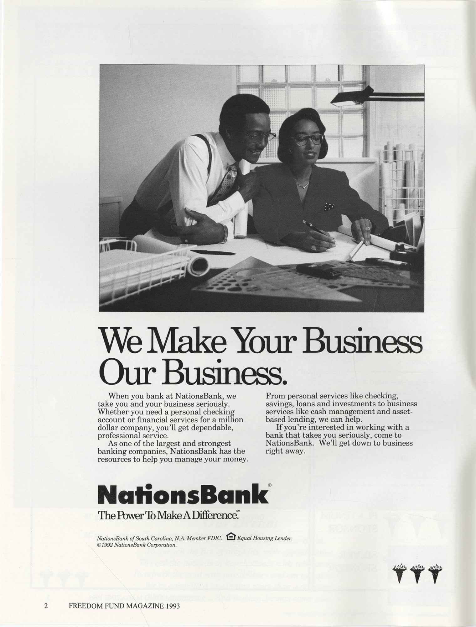 Freedom Fund Magazine, 1993, Page 2
