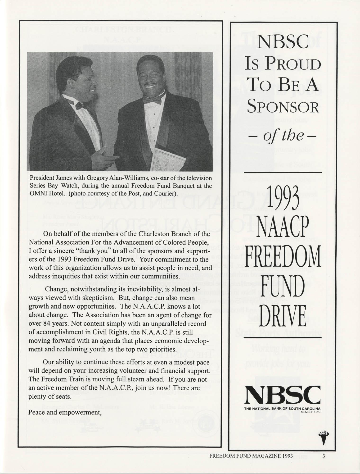 Freedom Fund Magazine, 1993, Page 3