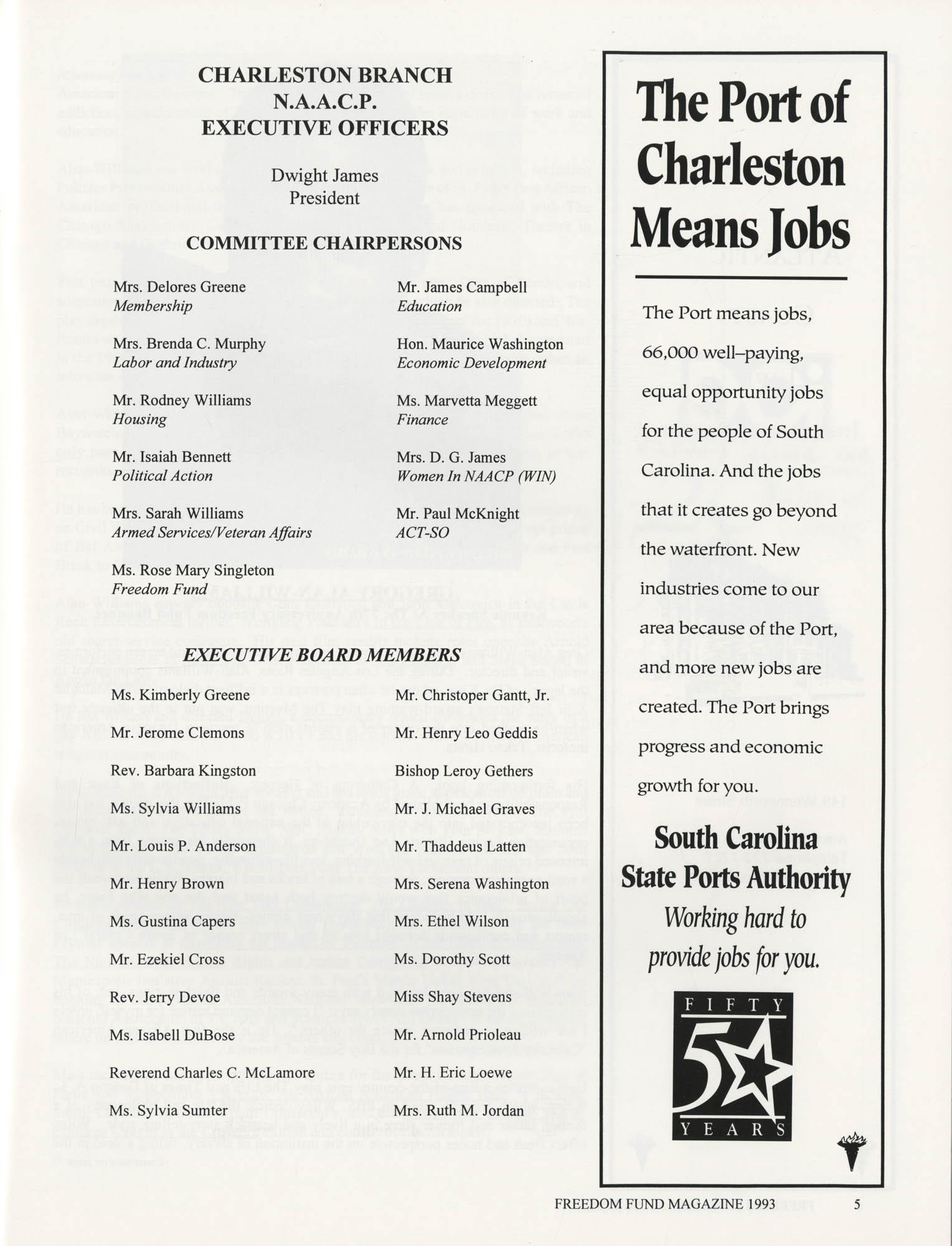 Freedom Fund Magazine, 1993, Page 5