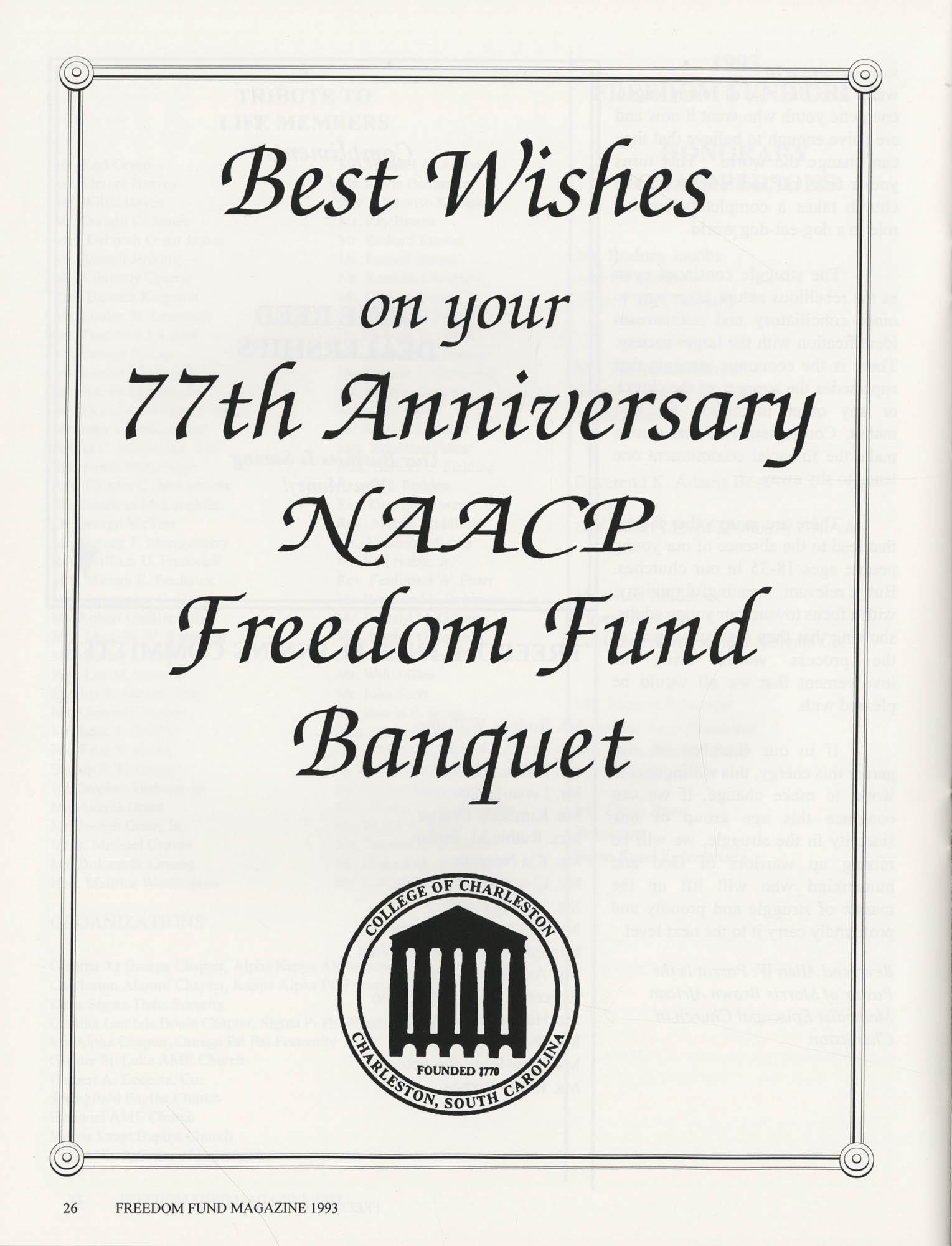 Freedom Fund Magazine, 1993, Page 26