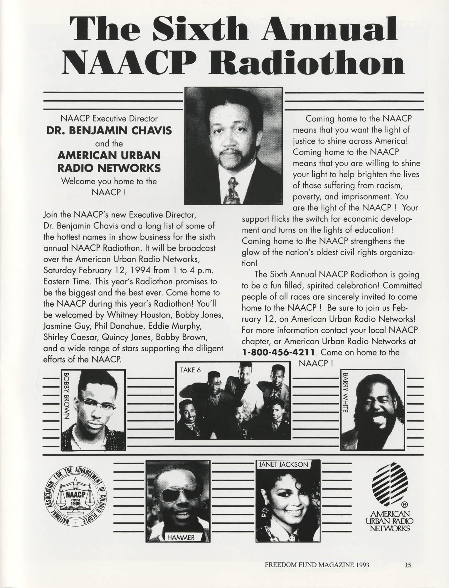 Freedom Fund Magazine, 1993, Page 35