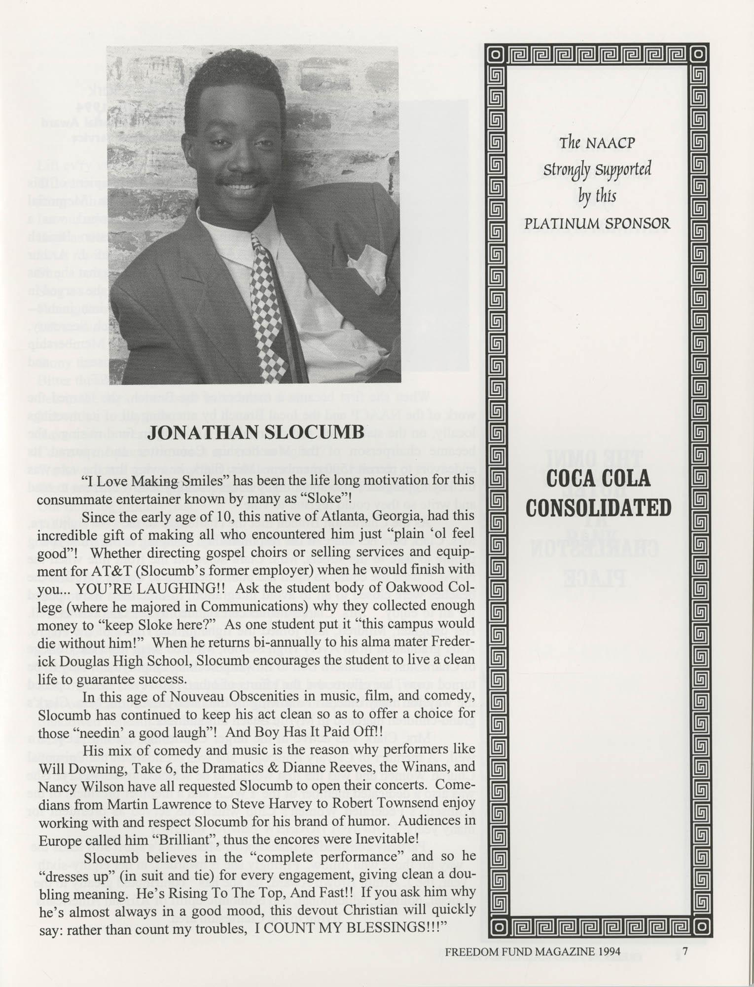 Freedom Fund Magazine, 1994, Page 7
