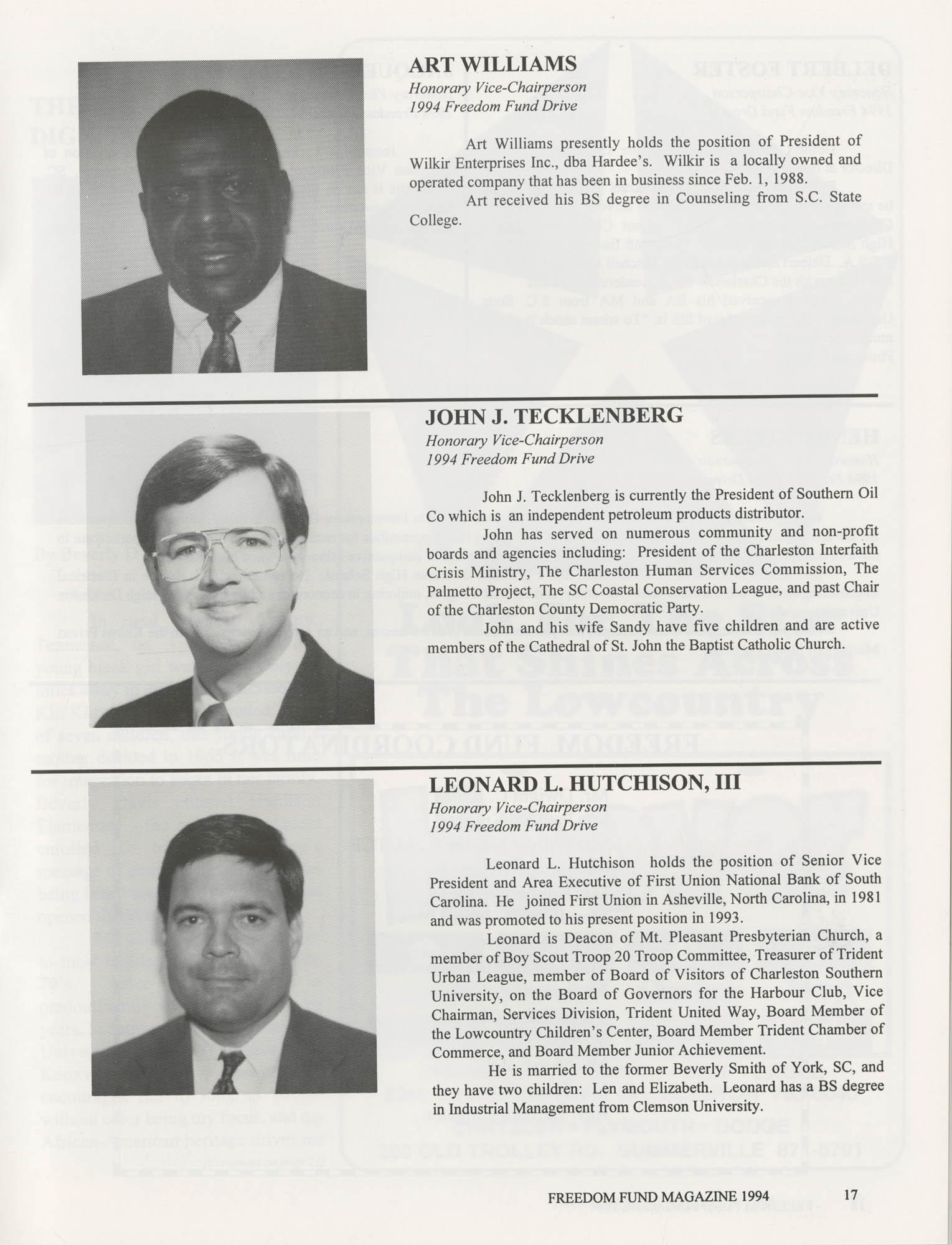 Freedom Fund Magazine, 1994, Page 17