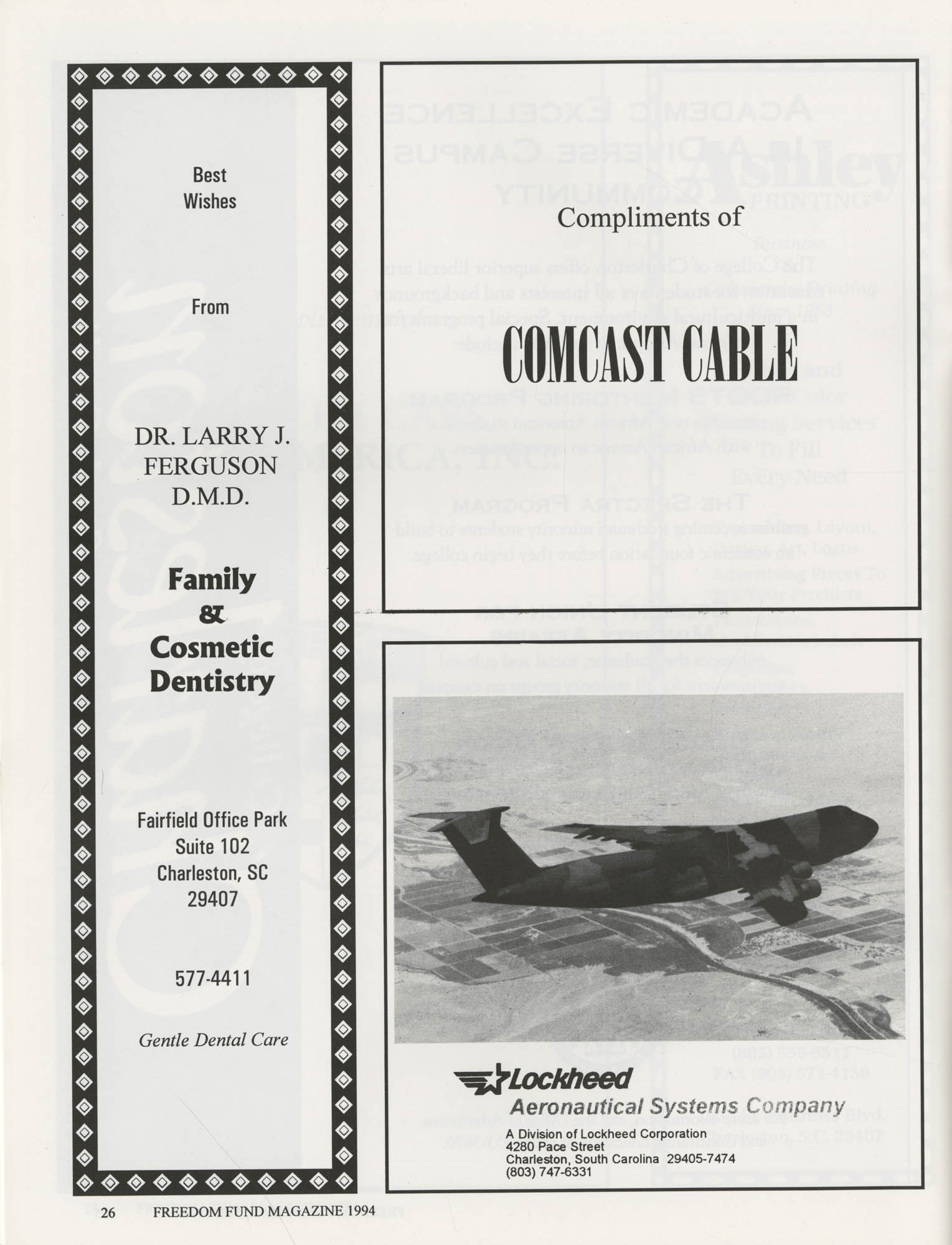 Freedom Fund Magazine, 1994, Page 26