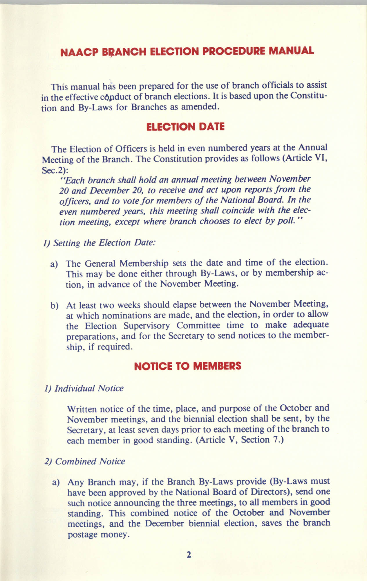 Manual on Branch Election Procedure, Page 2