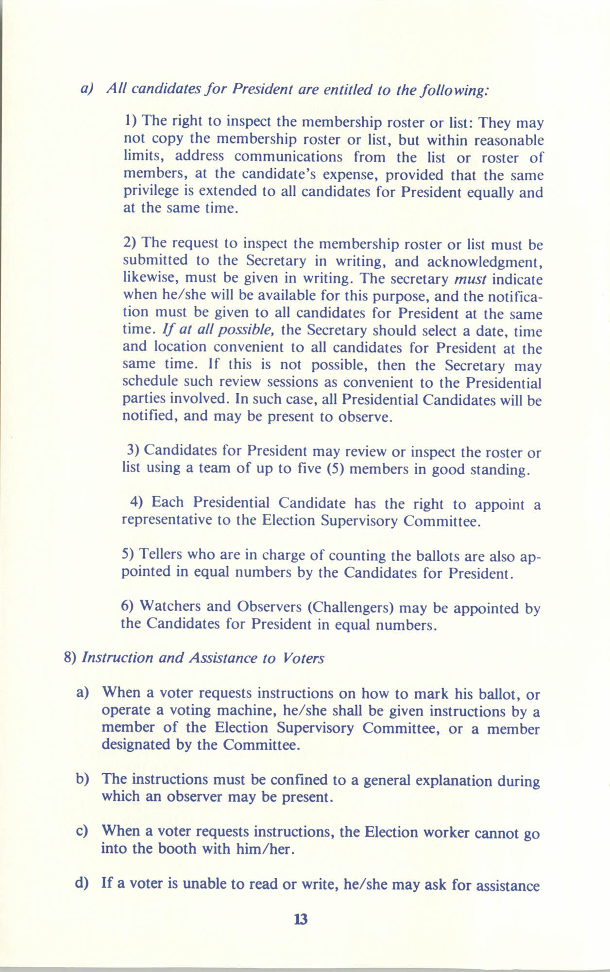 Manual on Branch Election Procedure, Page 13