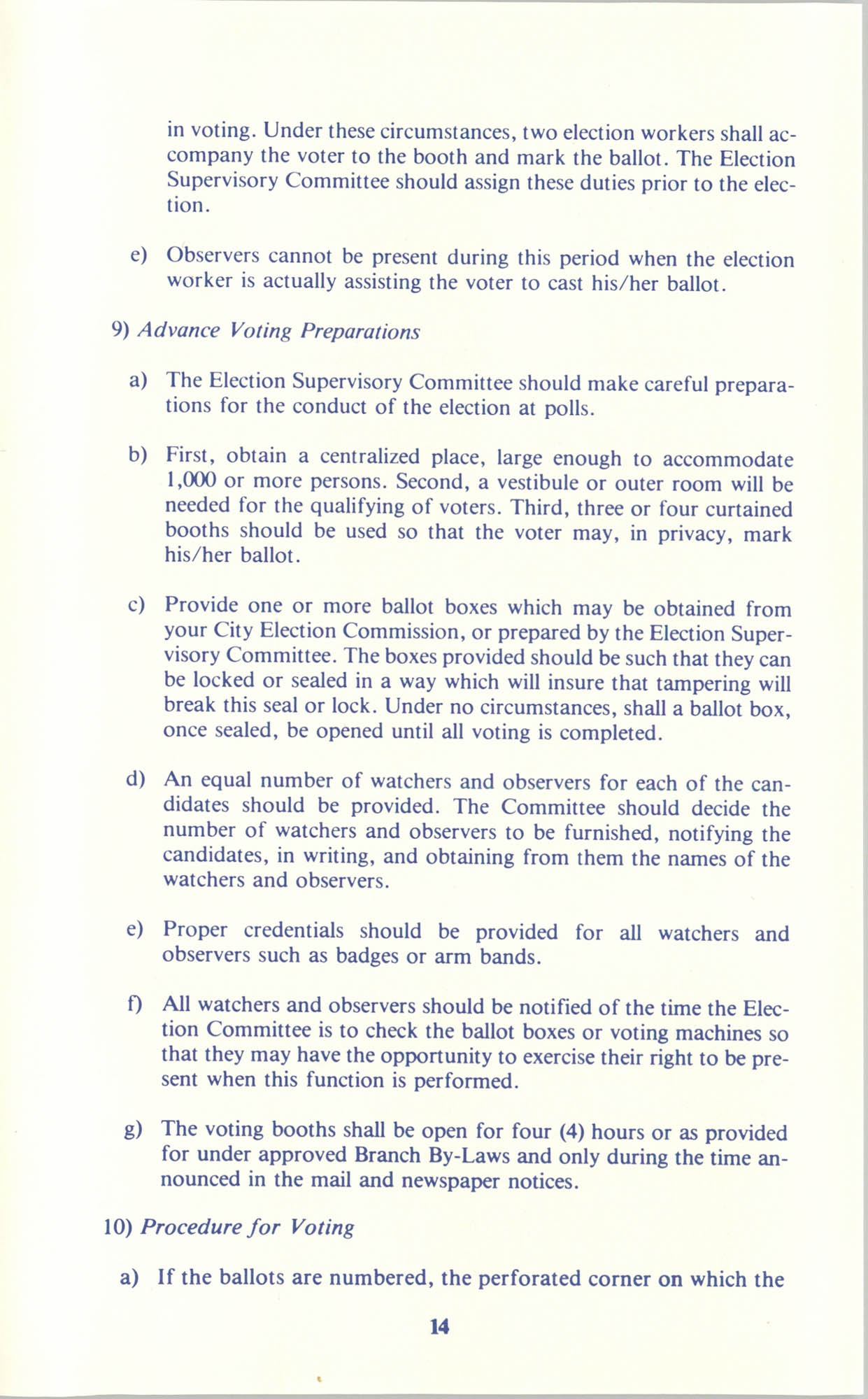 Manual on Branch Election Procedure, Page 14