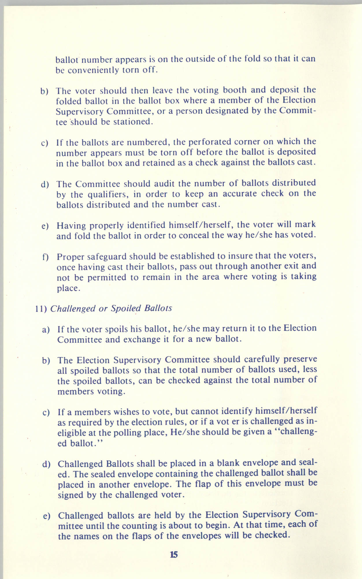 Manual on Branch Election Procedure, Page 15