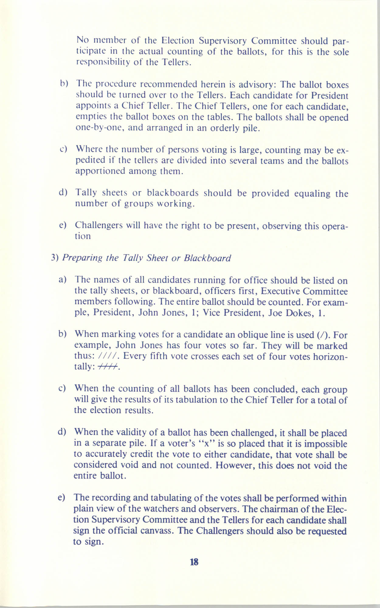 Manual on Branch Election Procedure, Page 18