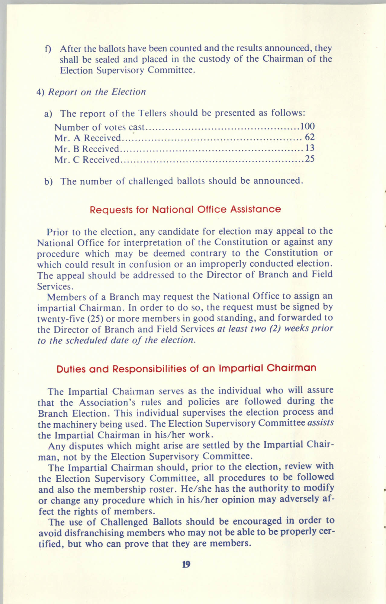 Manual on Branch Election Procedure, Page 19
