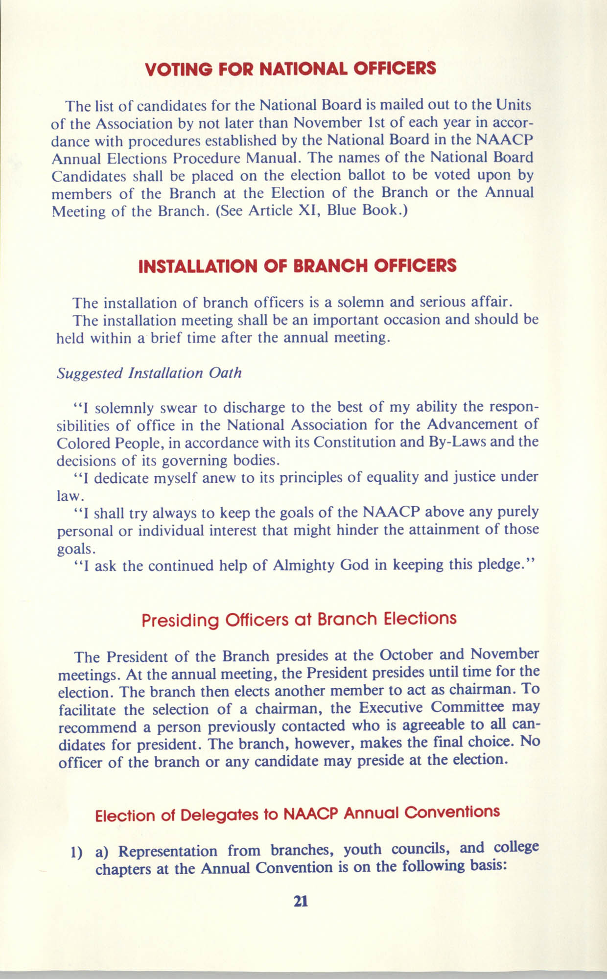 Manual on Branch Election Procedure, Page 21