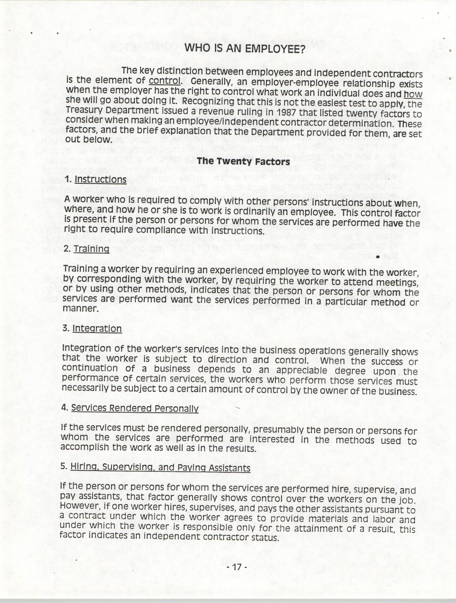 Tax Responsibilities of NAACP Branches as 501(c) (4) Entities, Page 17