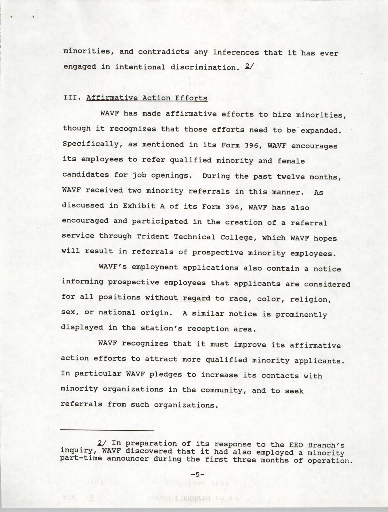 Federal Communications Commission In the Matter of Cordes Street Communications, Inc., Page 5