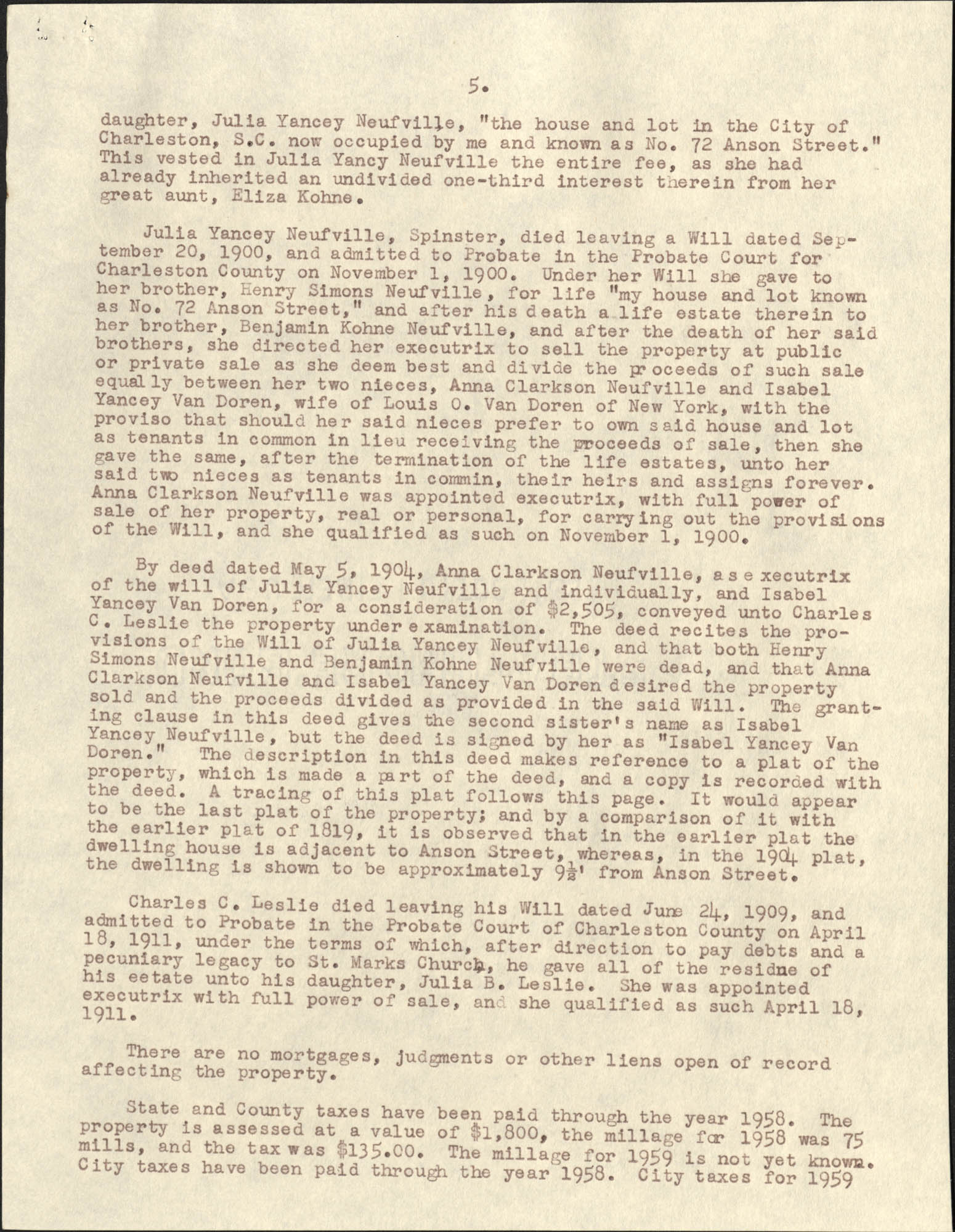 Letter from S. Henry Edmunds to Ben Scott Whaley, May 6, 1959, Page 5