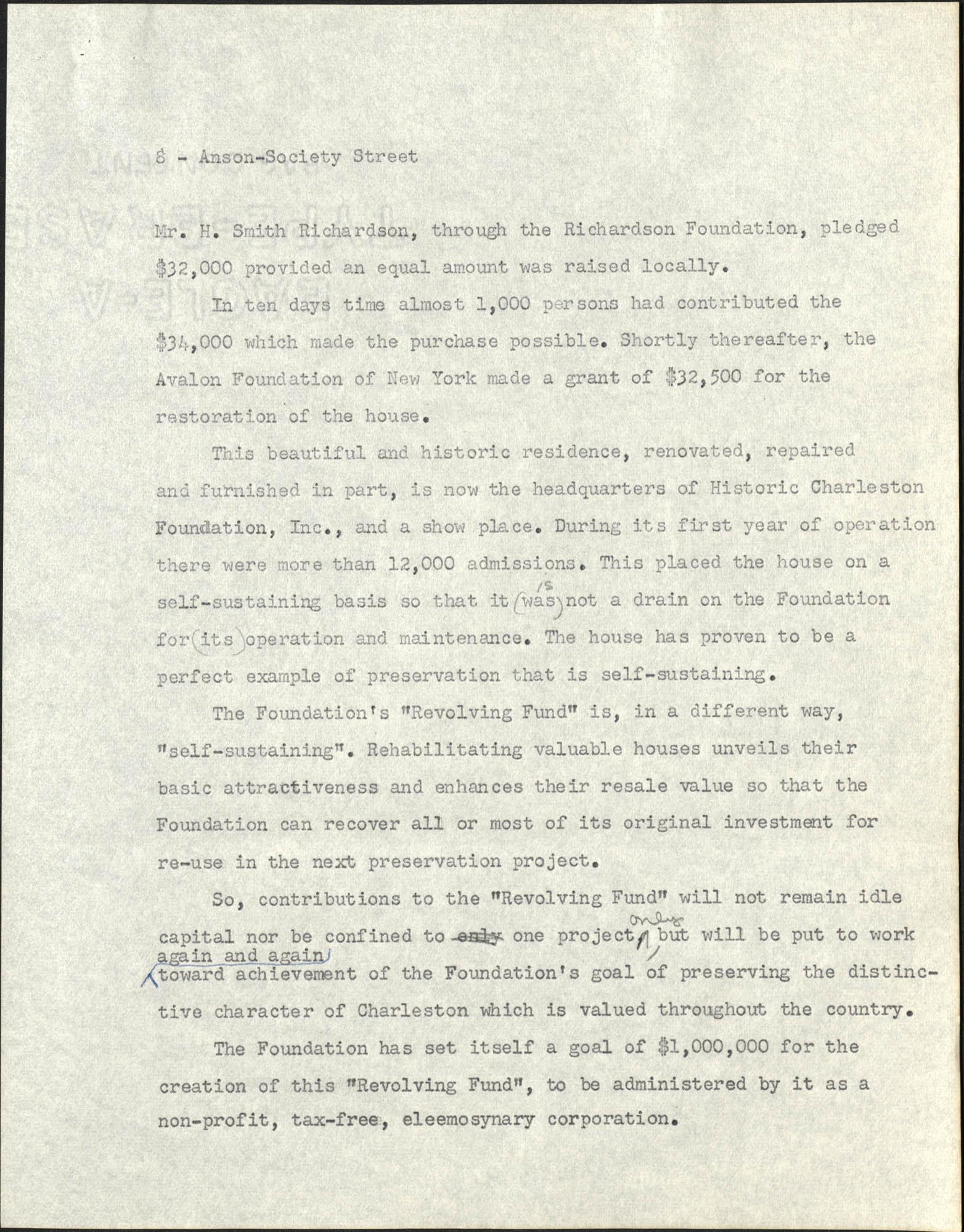 Anson-Society Street Rehabilitation, Page 8