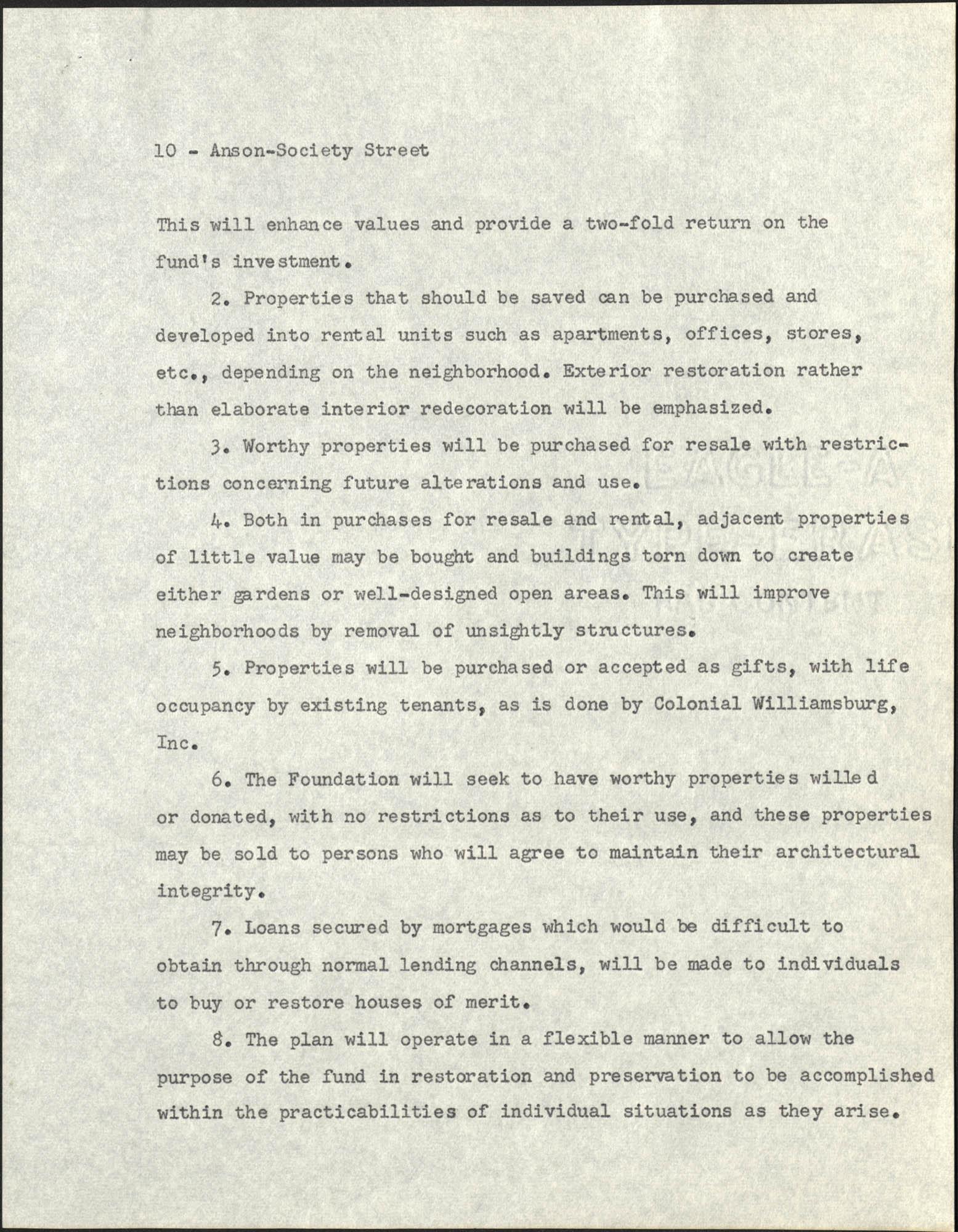Anson-Society Street Rehabilitation, Page 10