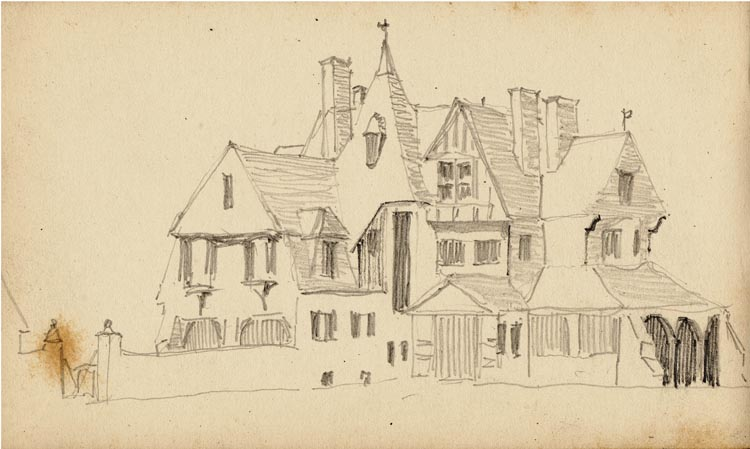 52. Unidentified house