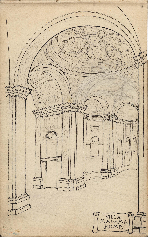 1. Villa Madama Rome
