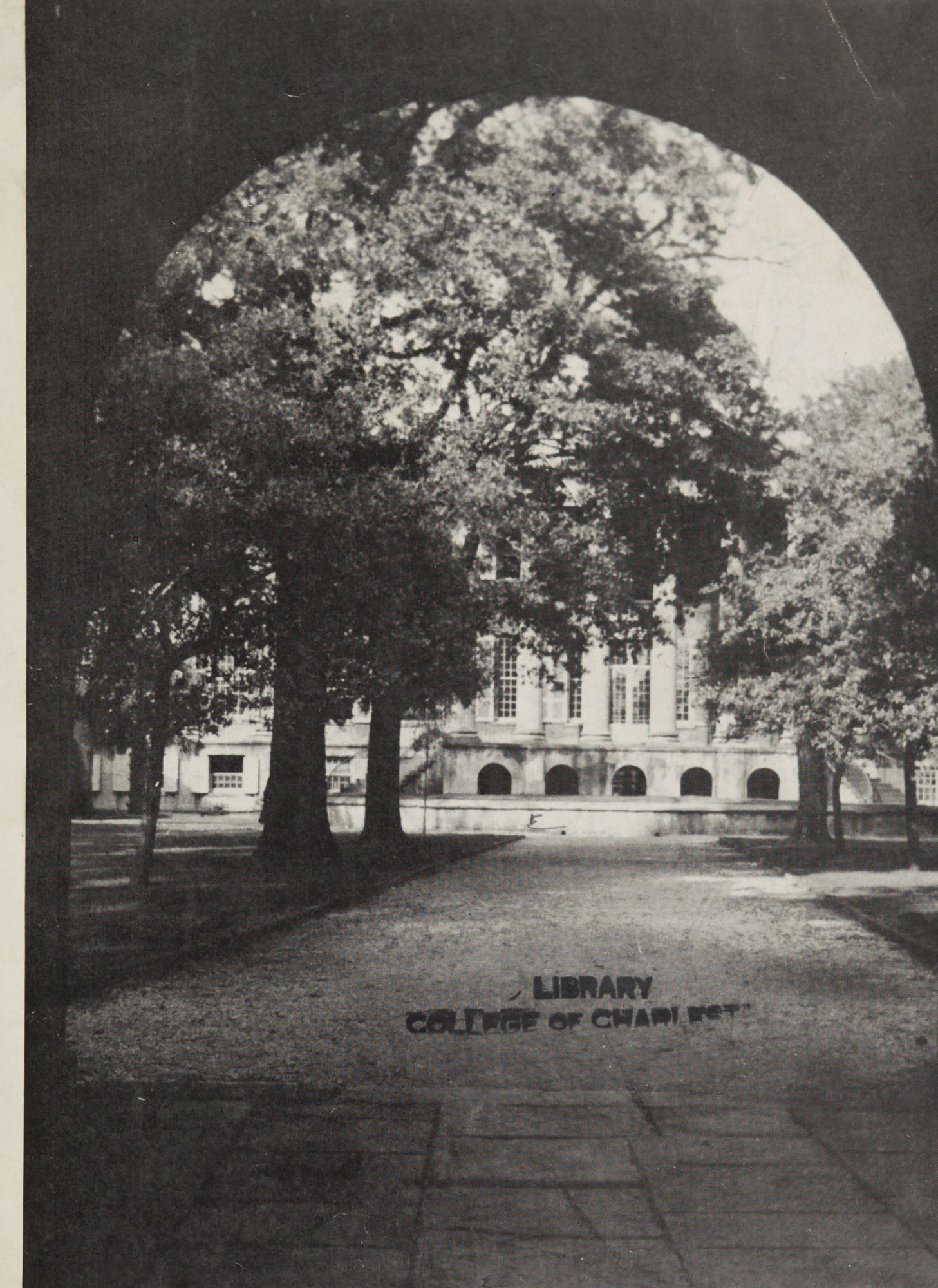 College of Charleston Magazine, 1937-1938, Vol. XXXXI No. 1, cover