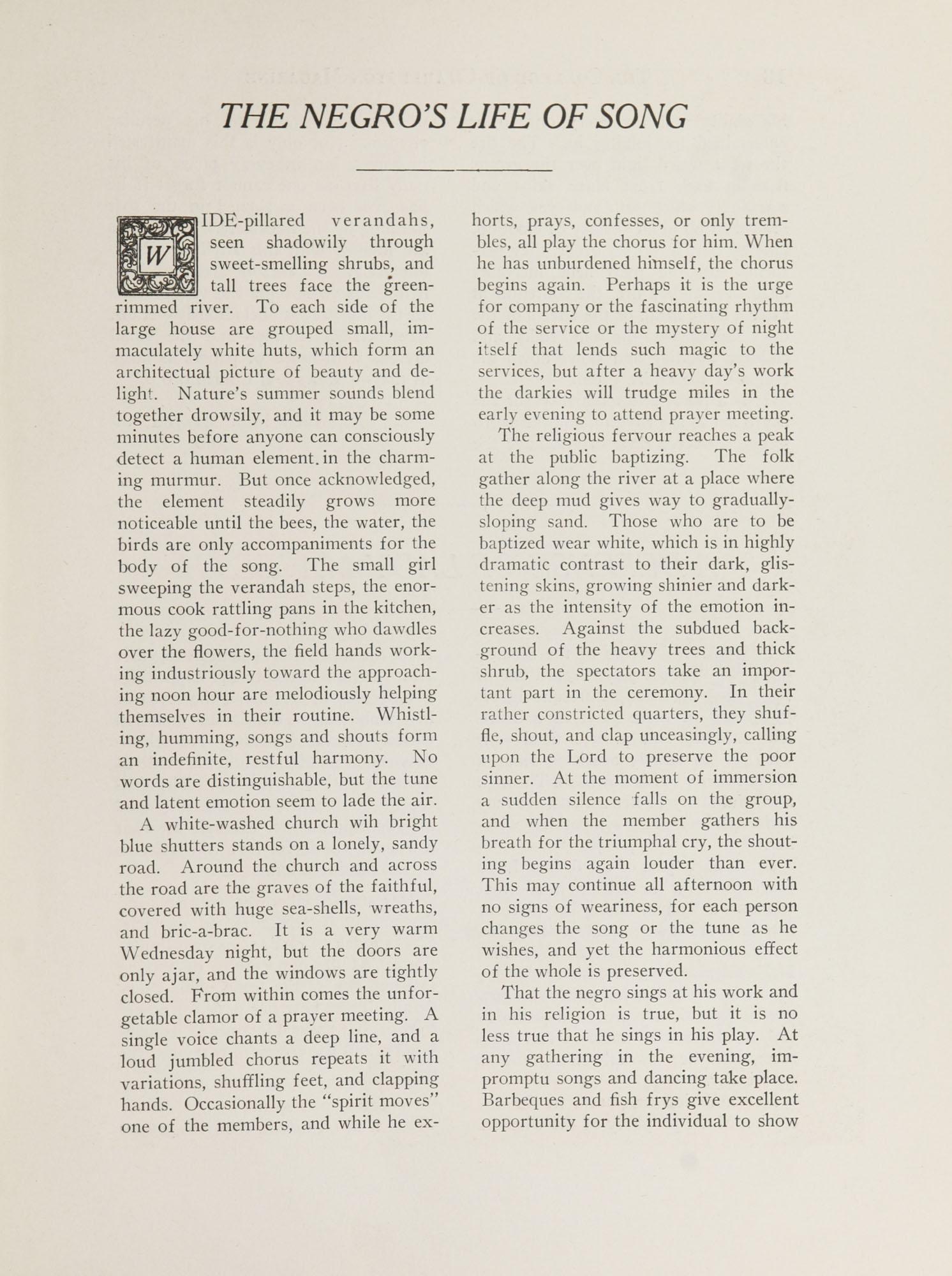 College of Charleston Magazine, 1937-1938, Vol. XXXXI No. 1, page 17